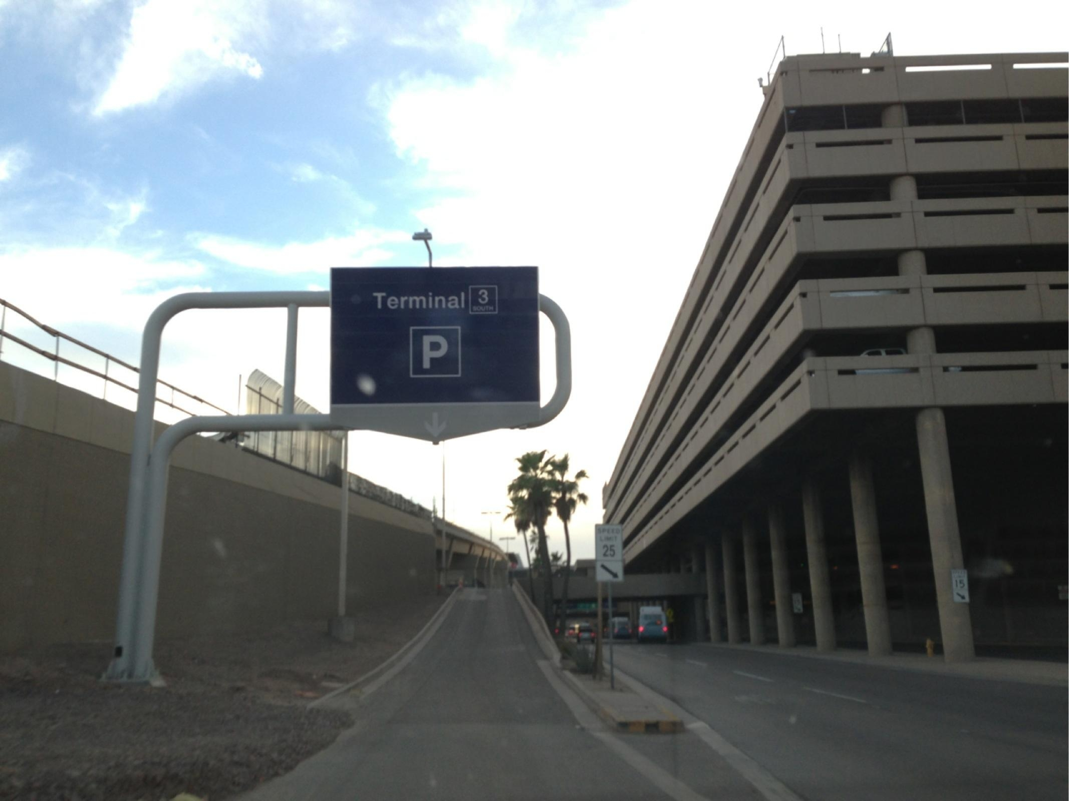 PHX - Terminal 3 Garage - Parking in Phoenix  ParkMe