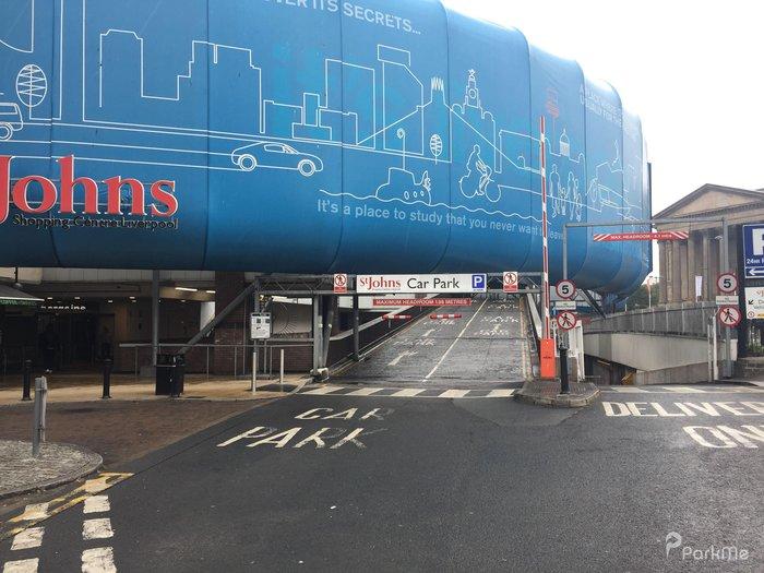 St Johns Car Park Parking In Liverpool Parkme