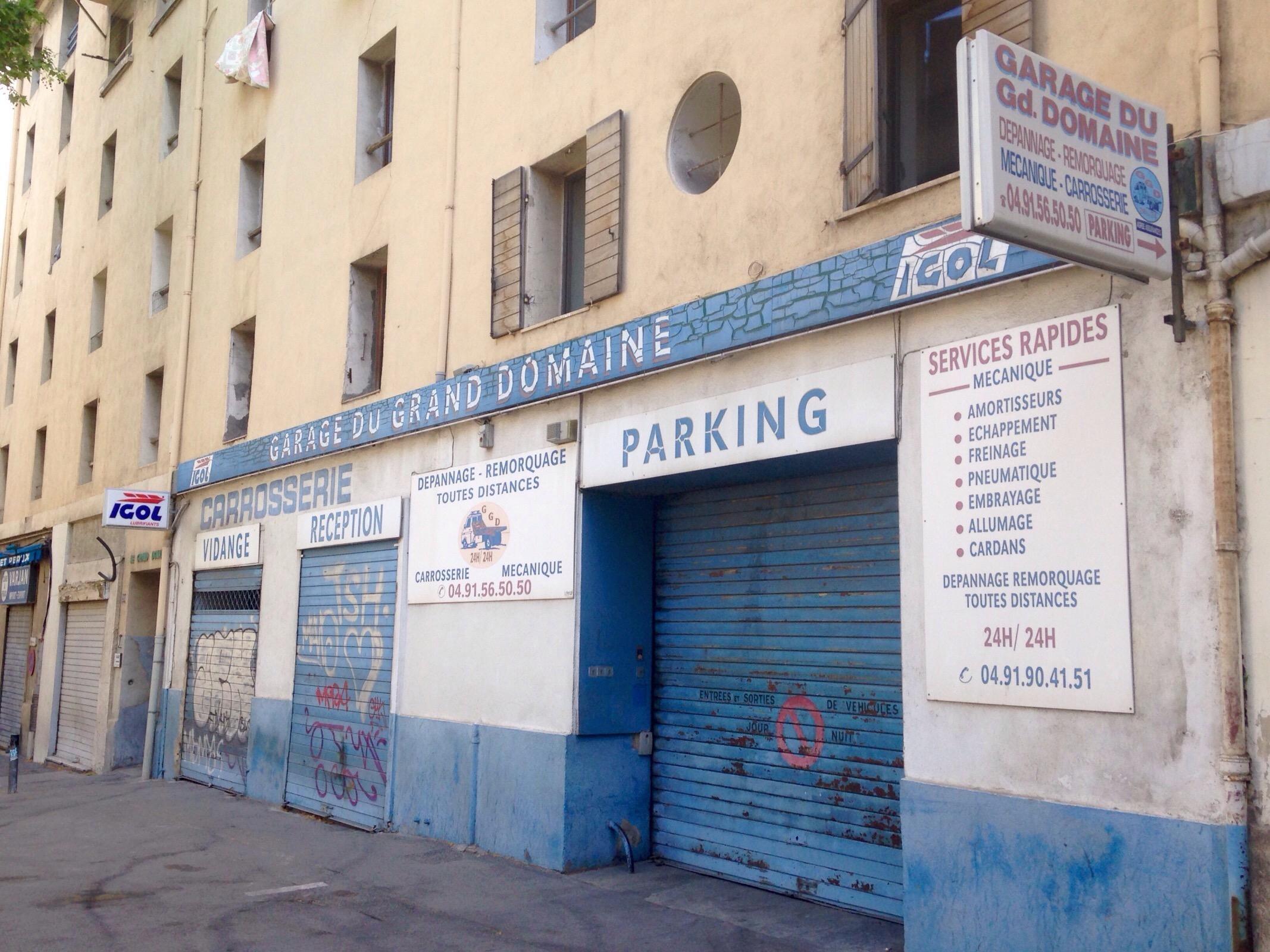Garage du grand domaine parking in marseille parkme for Garage avenue du maine