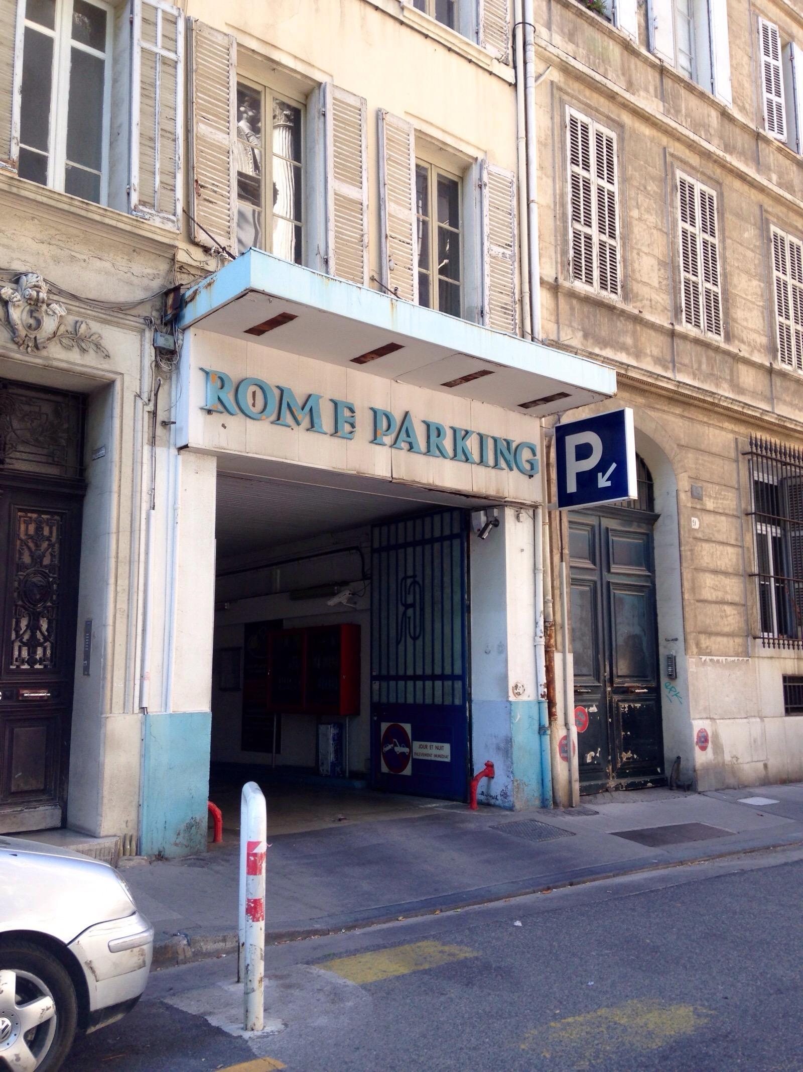 Rome parking parkeren in marseille parkme for E parking marseille