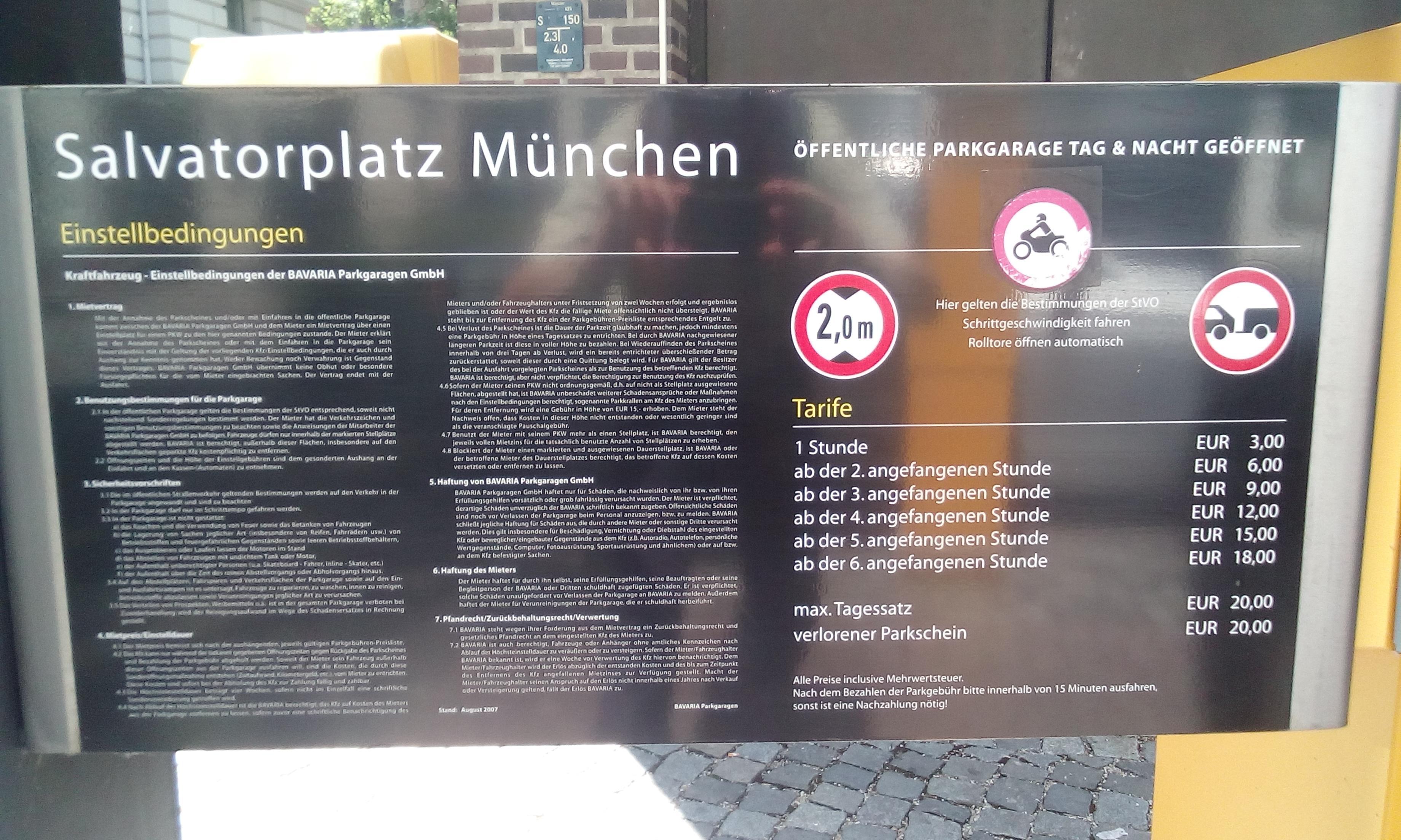 bavaria parkgaragen