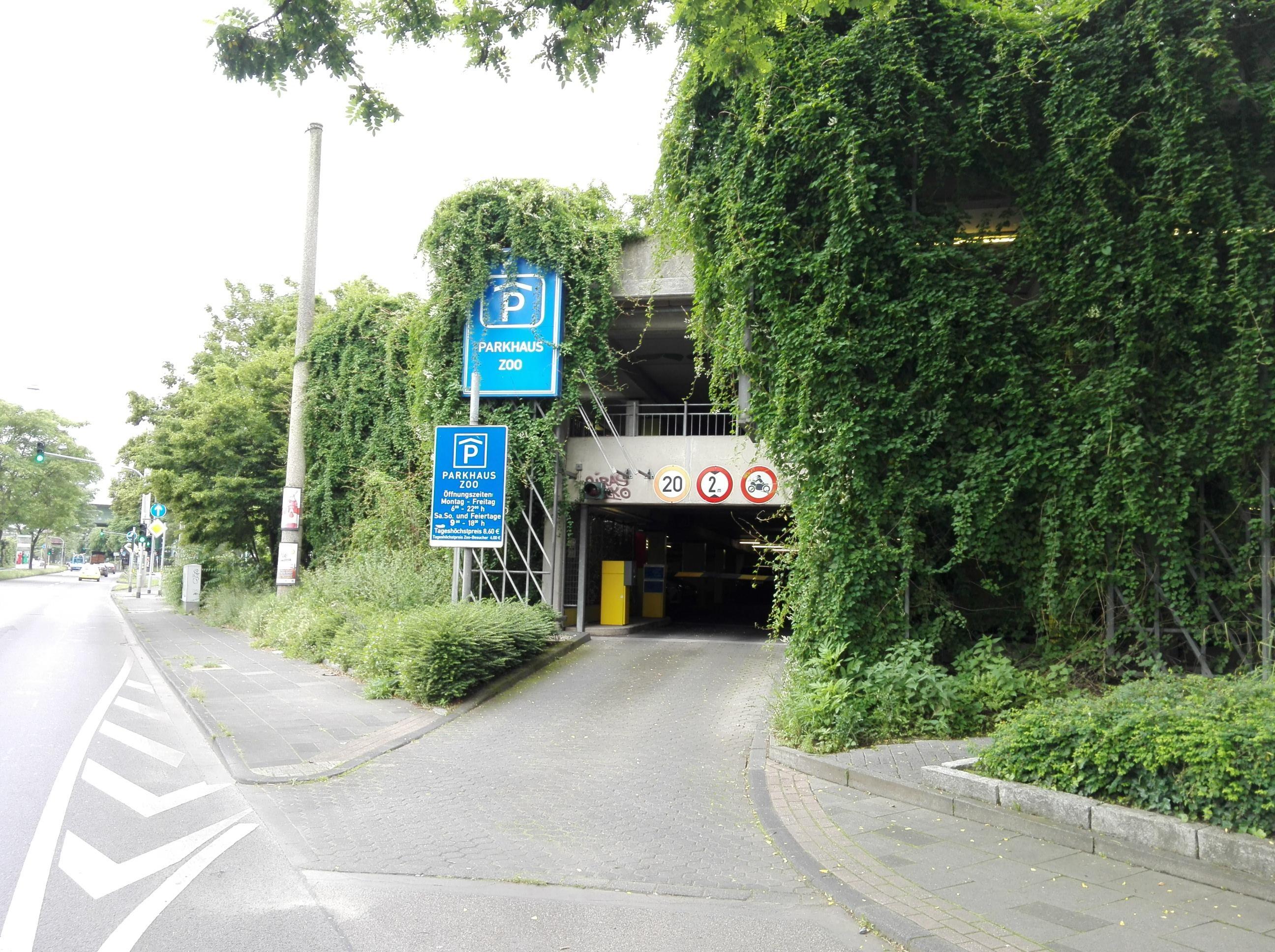Parkplatz Zoo Köln