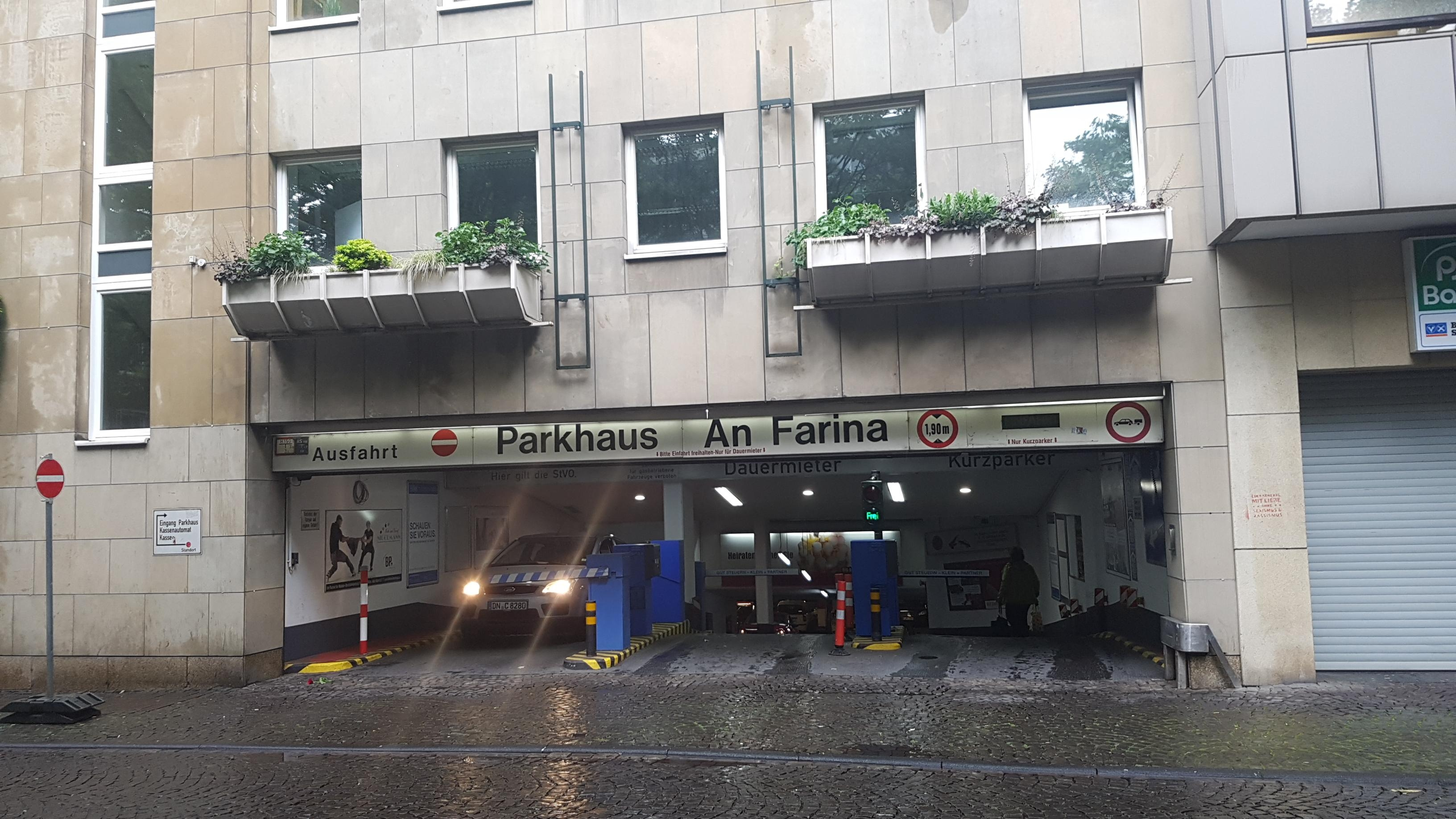 An Farina Parkhaus Köln