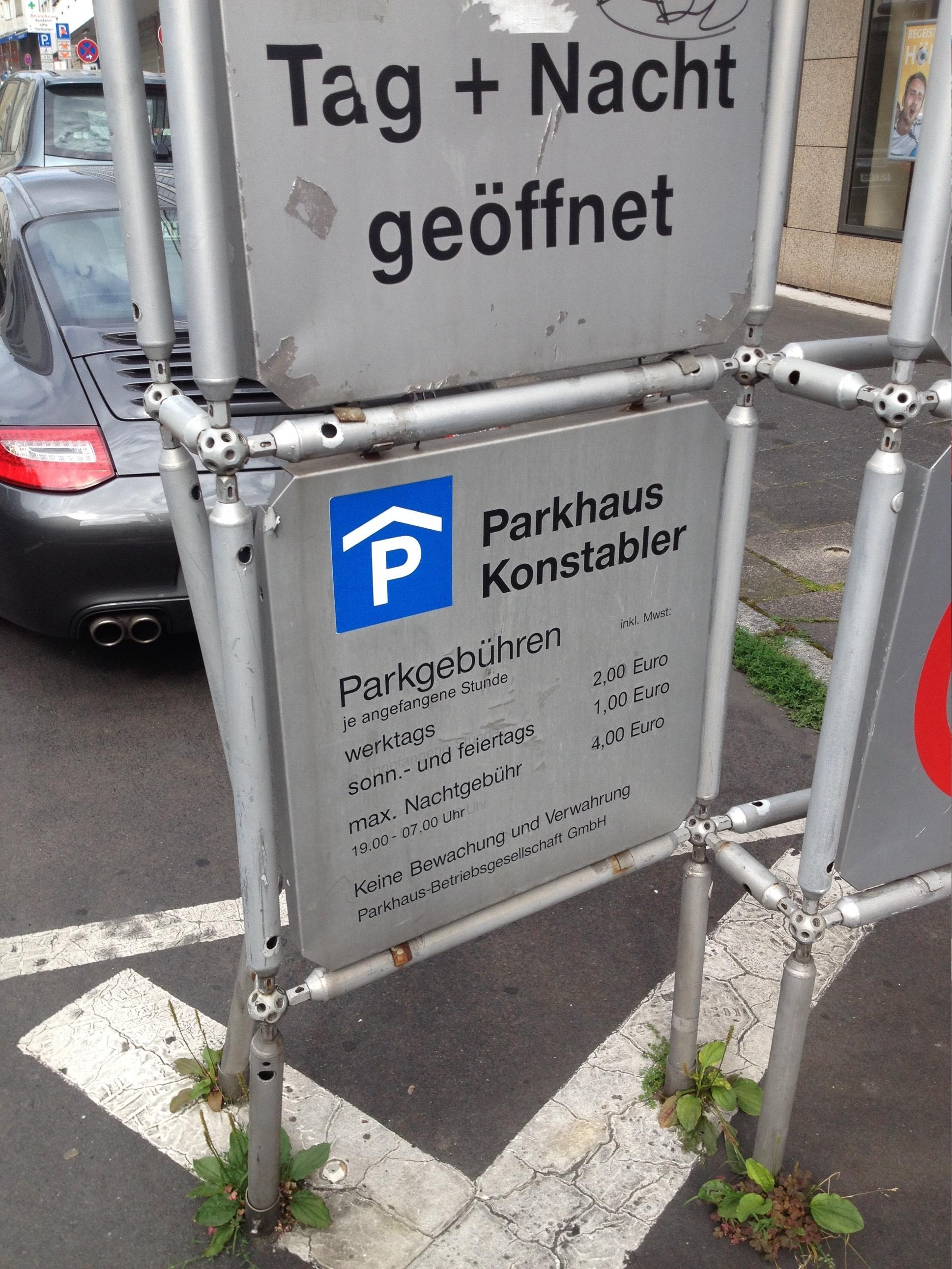 Parkhaus Töngesgasse
