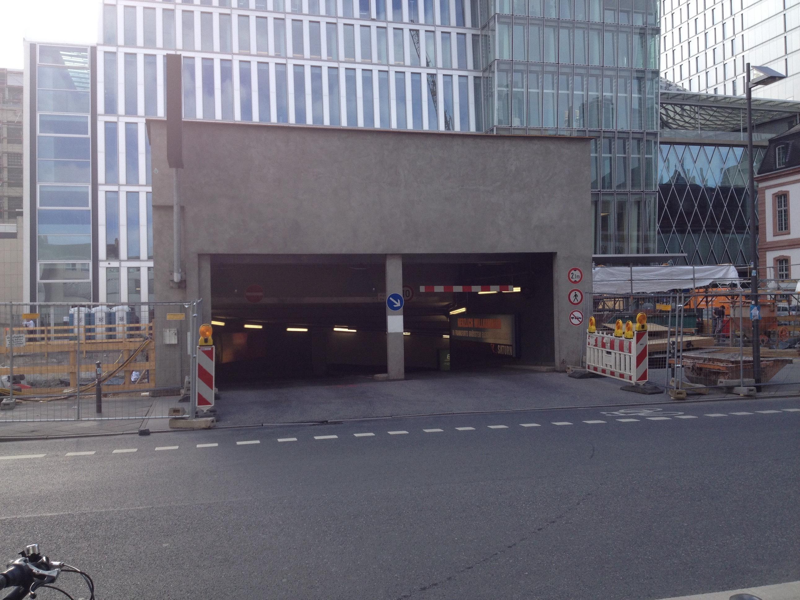 Frankfurt Myzeil Parkhaus