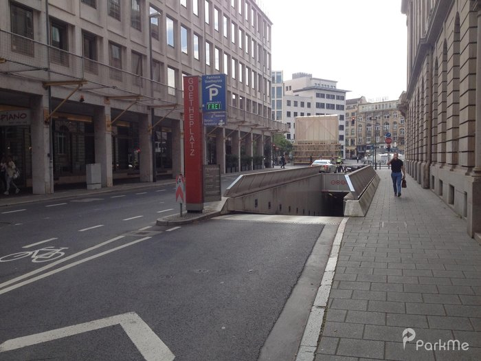 parkhaus frankfurt goetheplatz