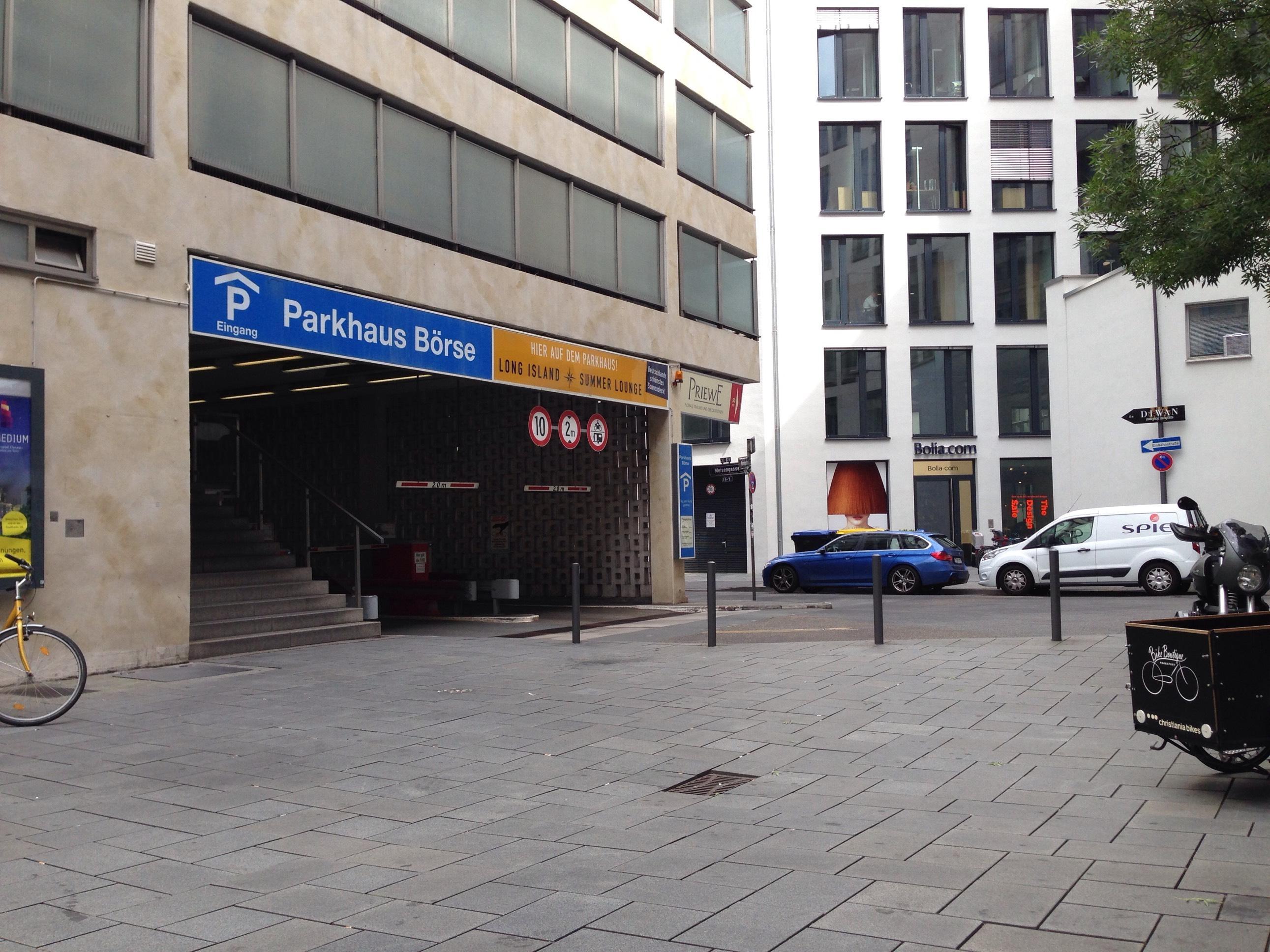 Parkhaus An Der Börse Frankfurt