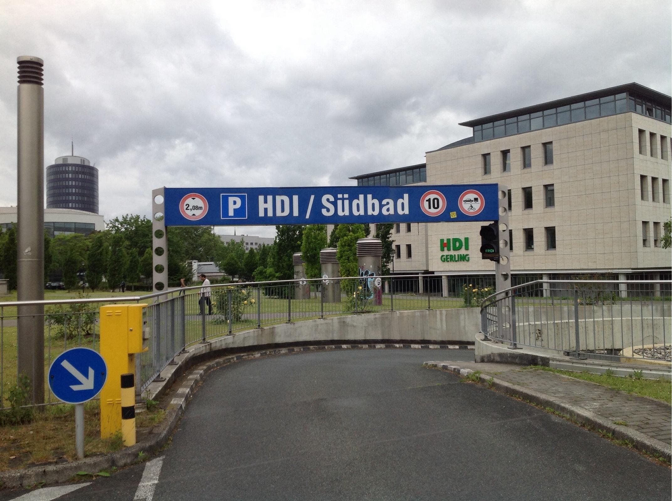 HDI / Südbad - Parkplatz in Dortmund | ParkMe