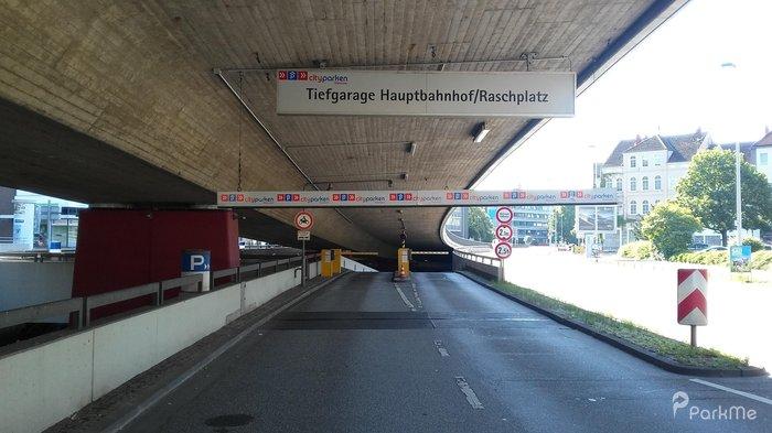 Parkplatz Hannover Hbf