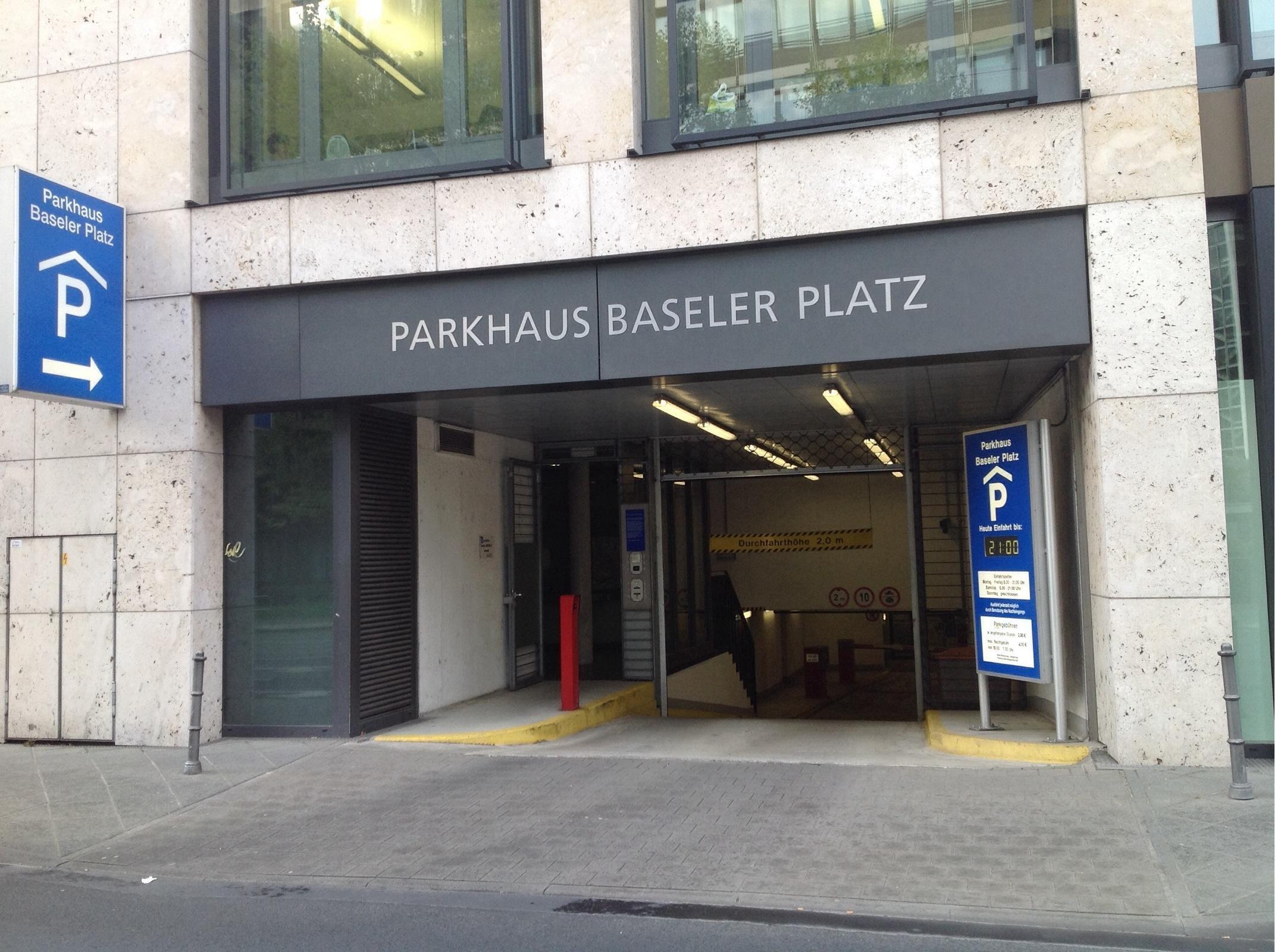 Parkhaus Baseler Platz
