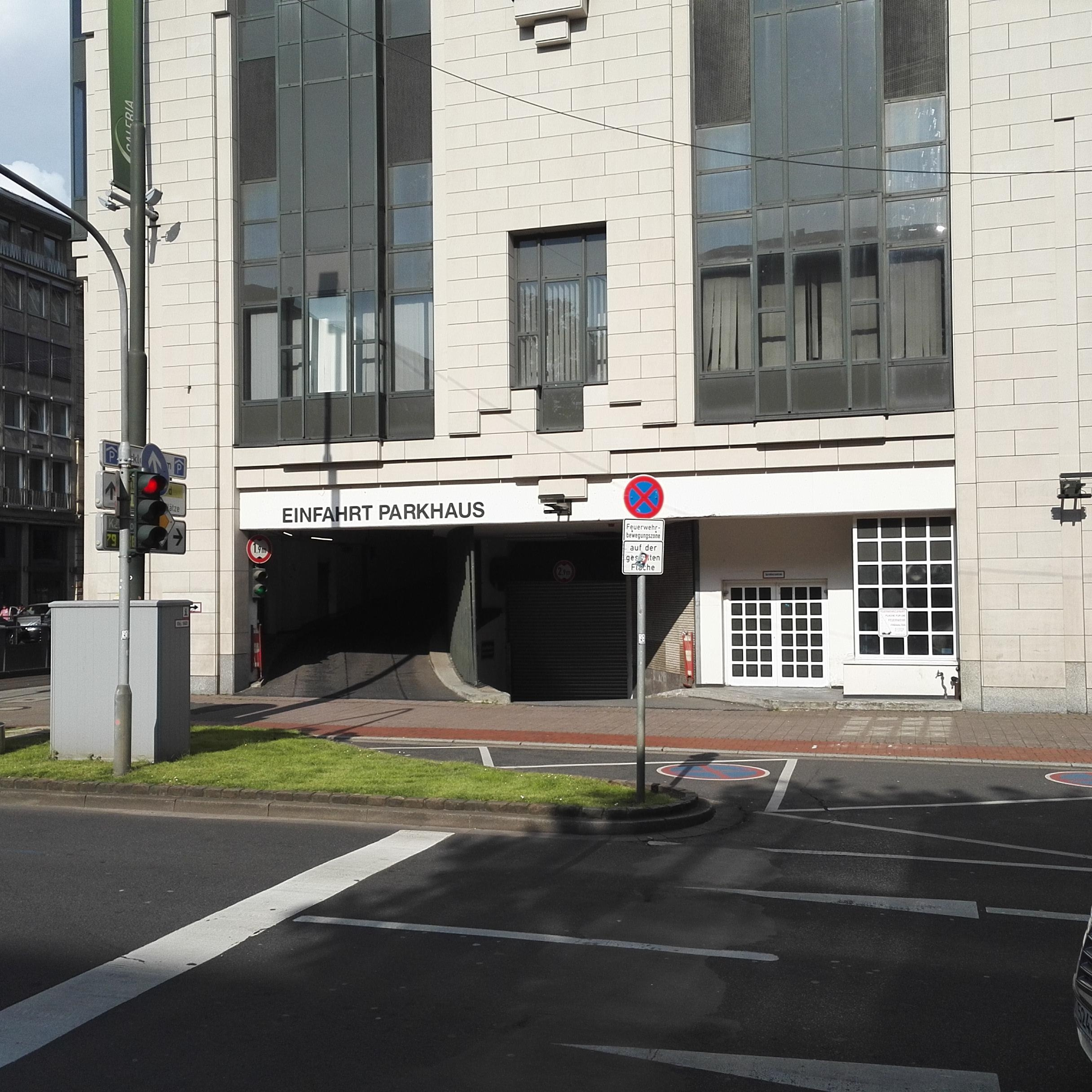 Galeria Kaufhof: Galeria Kaufhof - Parking In Düsseldorf