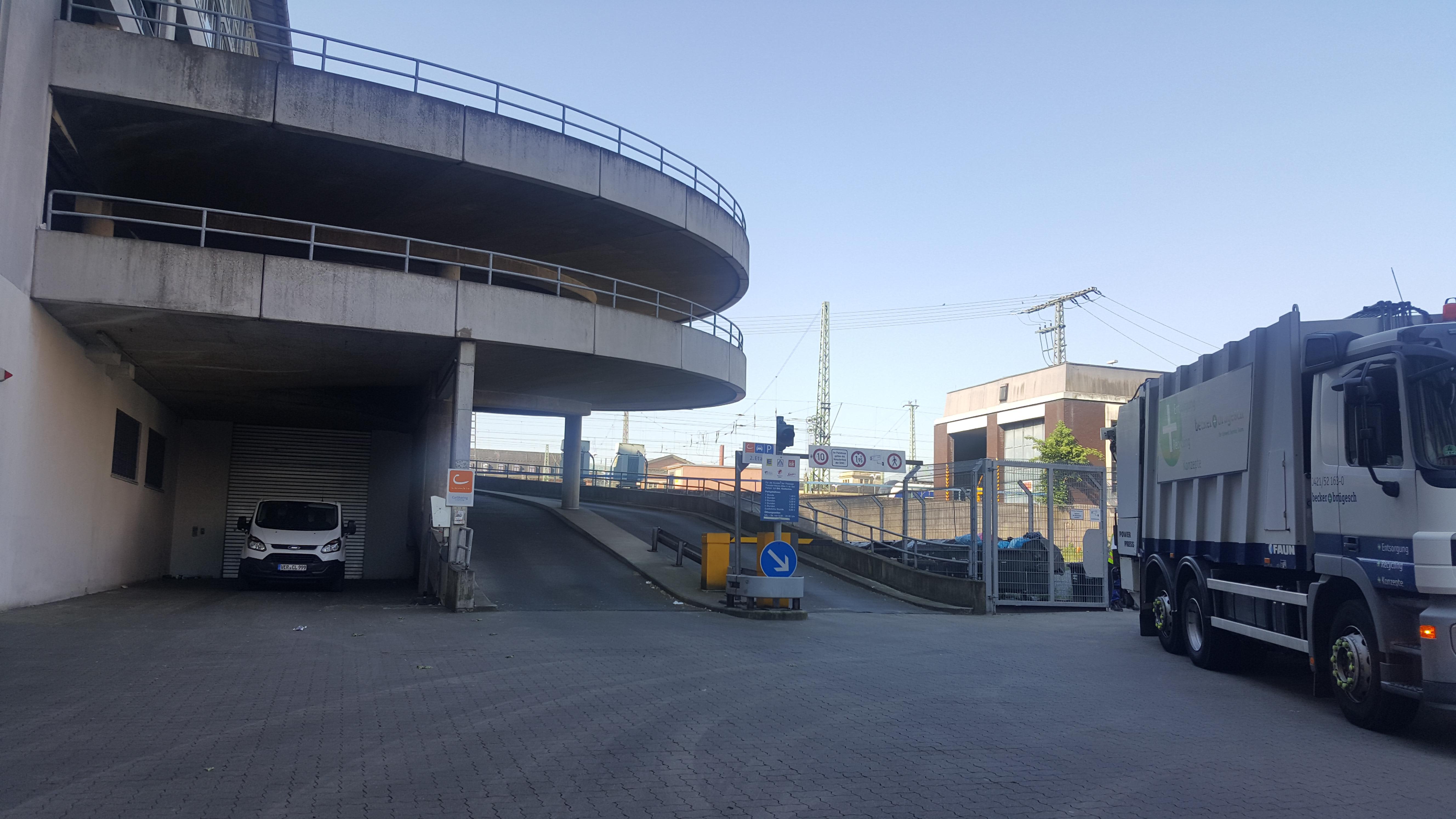 Parkplatz Bürgerweide Bremen