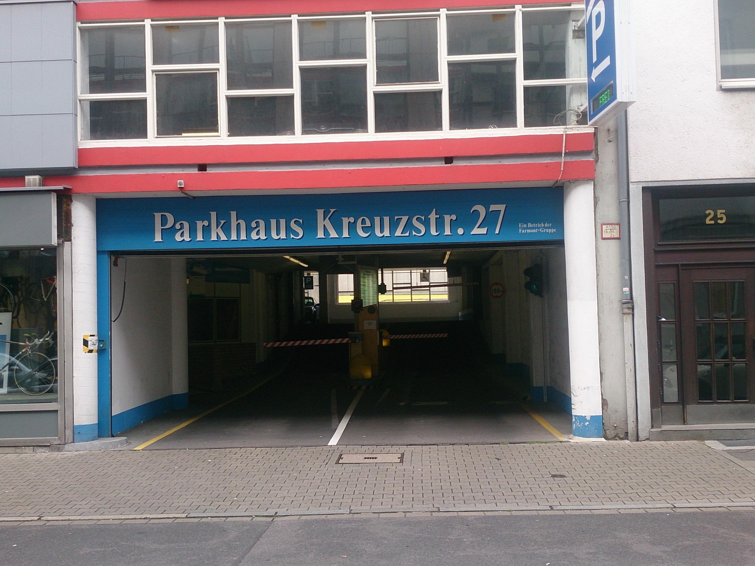 kreuzstra e 27 garage parking in d sseldorf parkme. Black Bedroom Furniture Sets. Home Design Ideas
