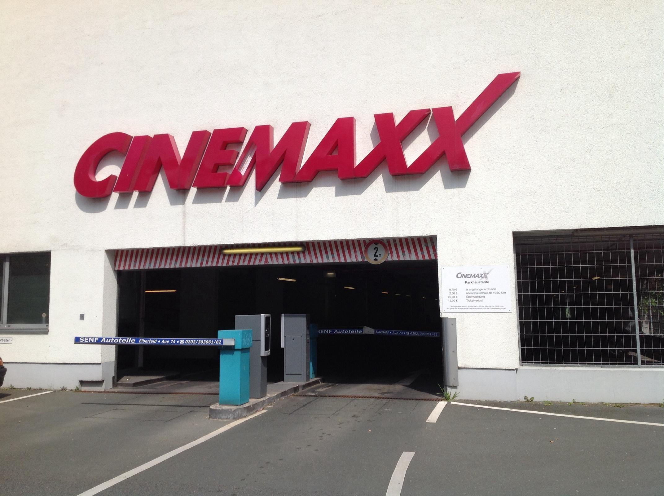 cinemaxx wuppertal preise