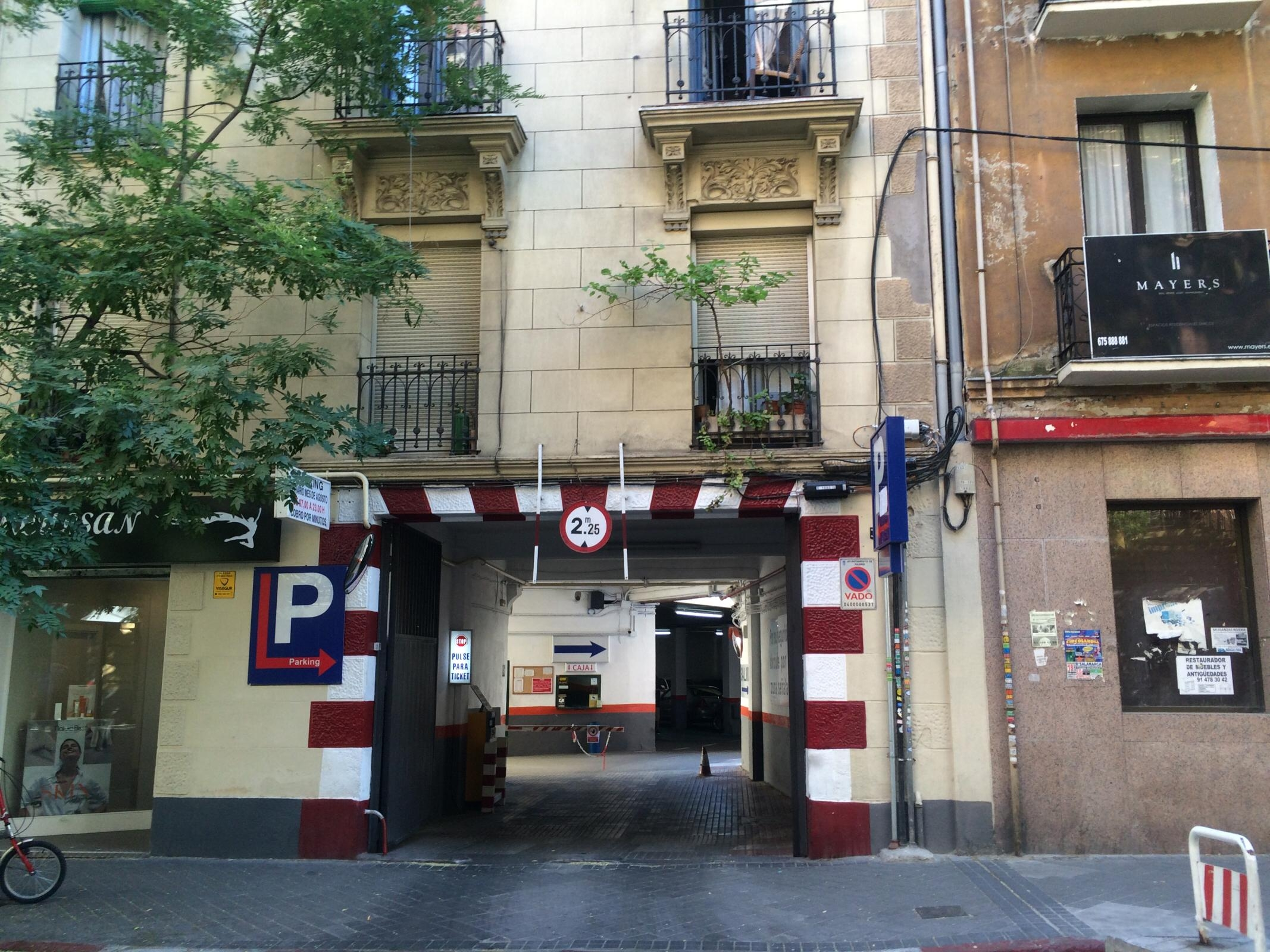 calle de hermosilla 108d garage parking in madrid parkme On calle hermosilla