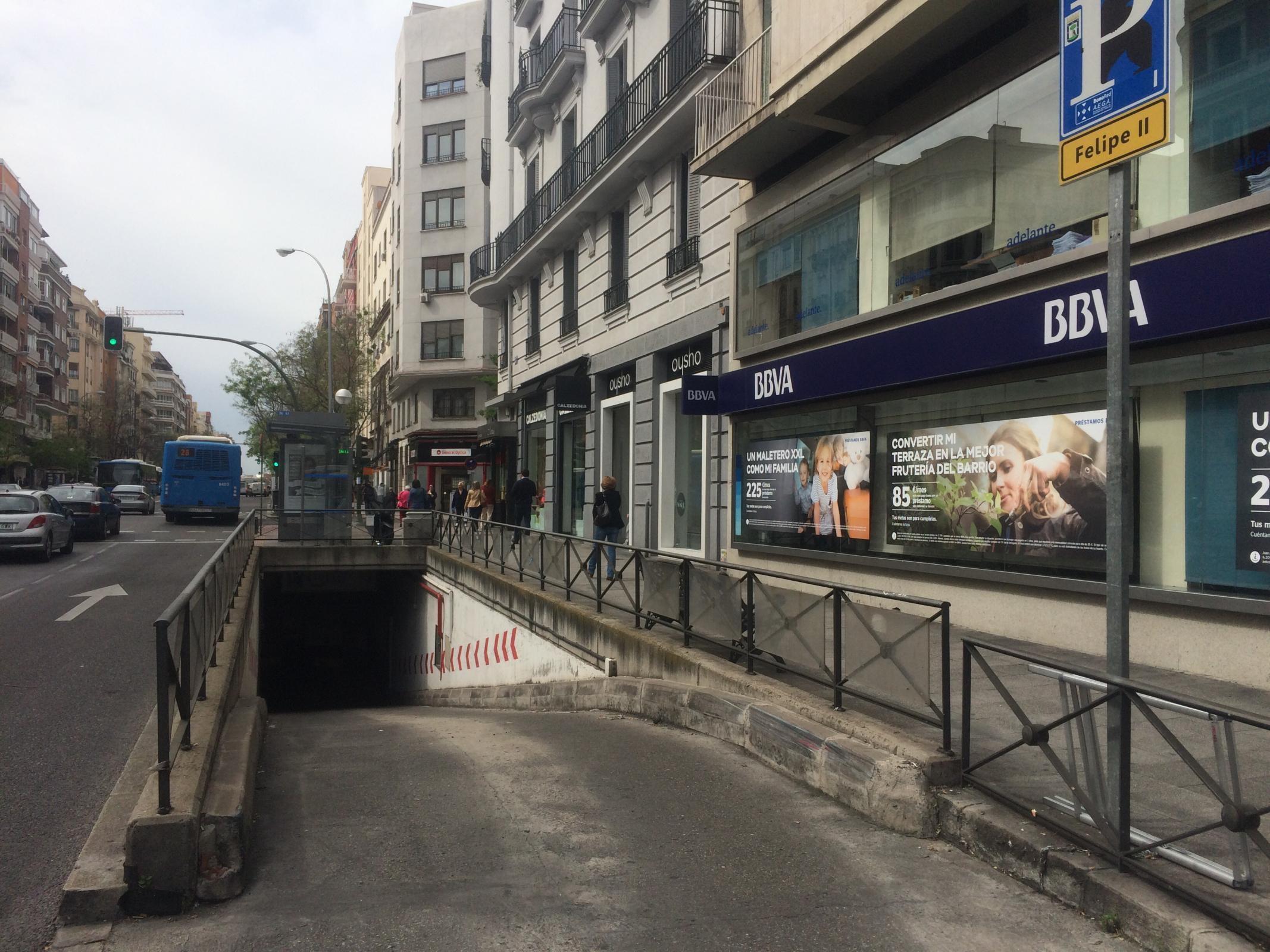 Felipe Ii Parking In Madrid Parkme