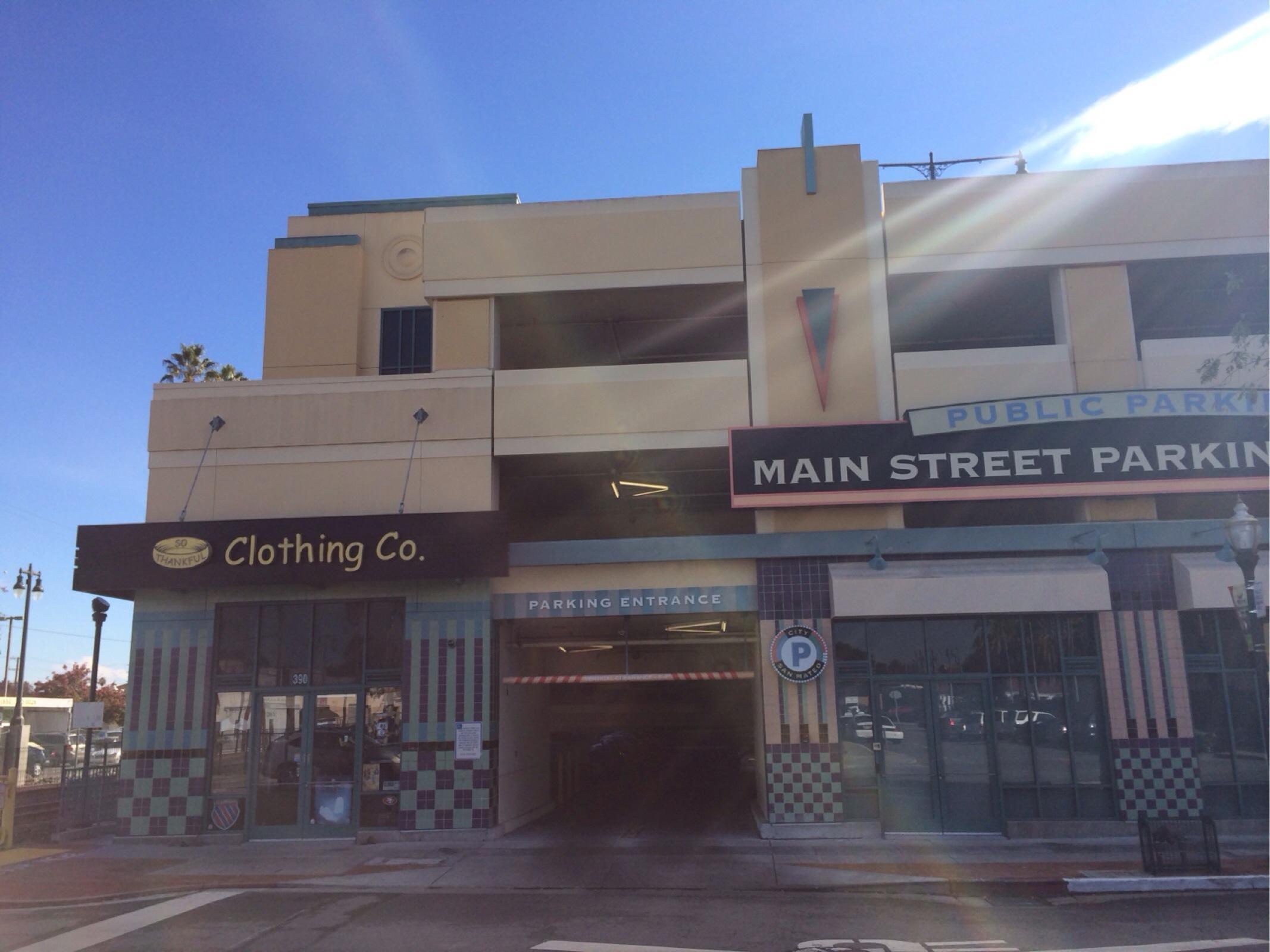Main Street Parking Garage Parking
