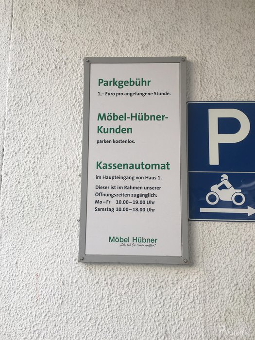 Möbel Hübner Parkplatz In Berlin Parkme