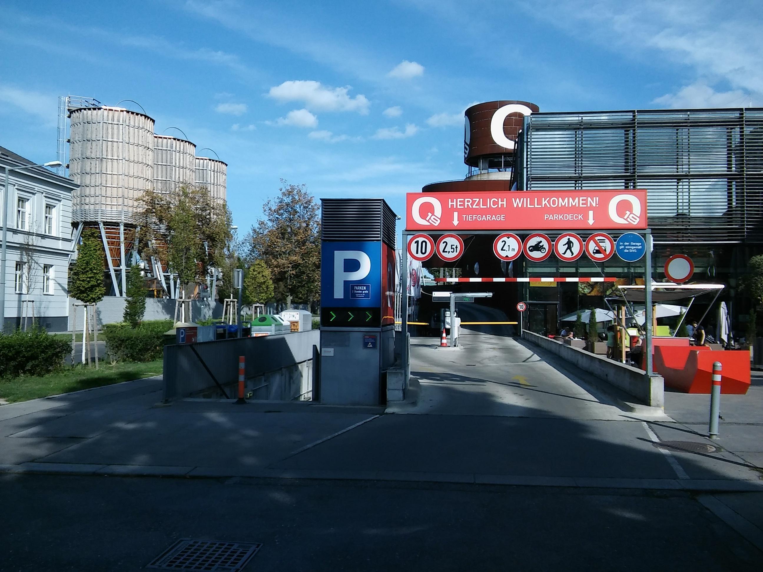 q19 - einkaufsquartier döbling - parking in wien | parkme