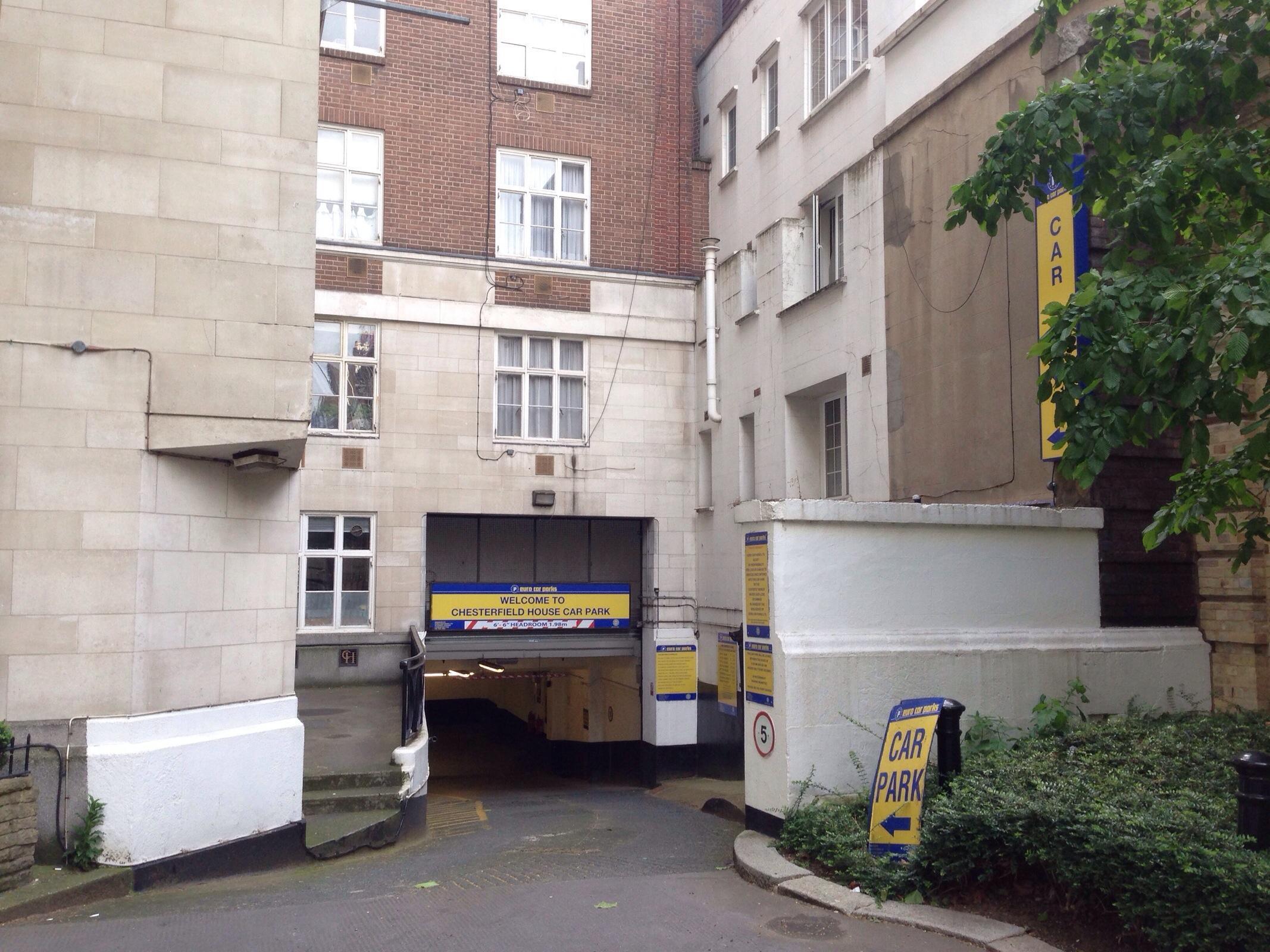 Chesterfield House Car Park Parking In London Parkme