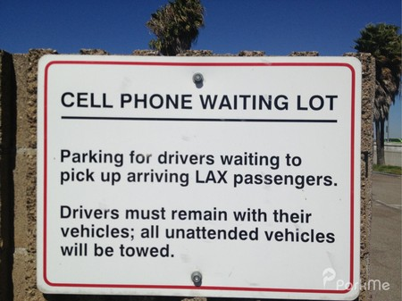 lax cell phone waiting lot parking in los angeles parkme