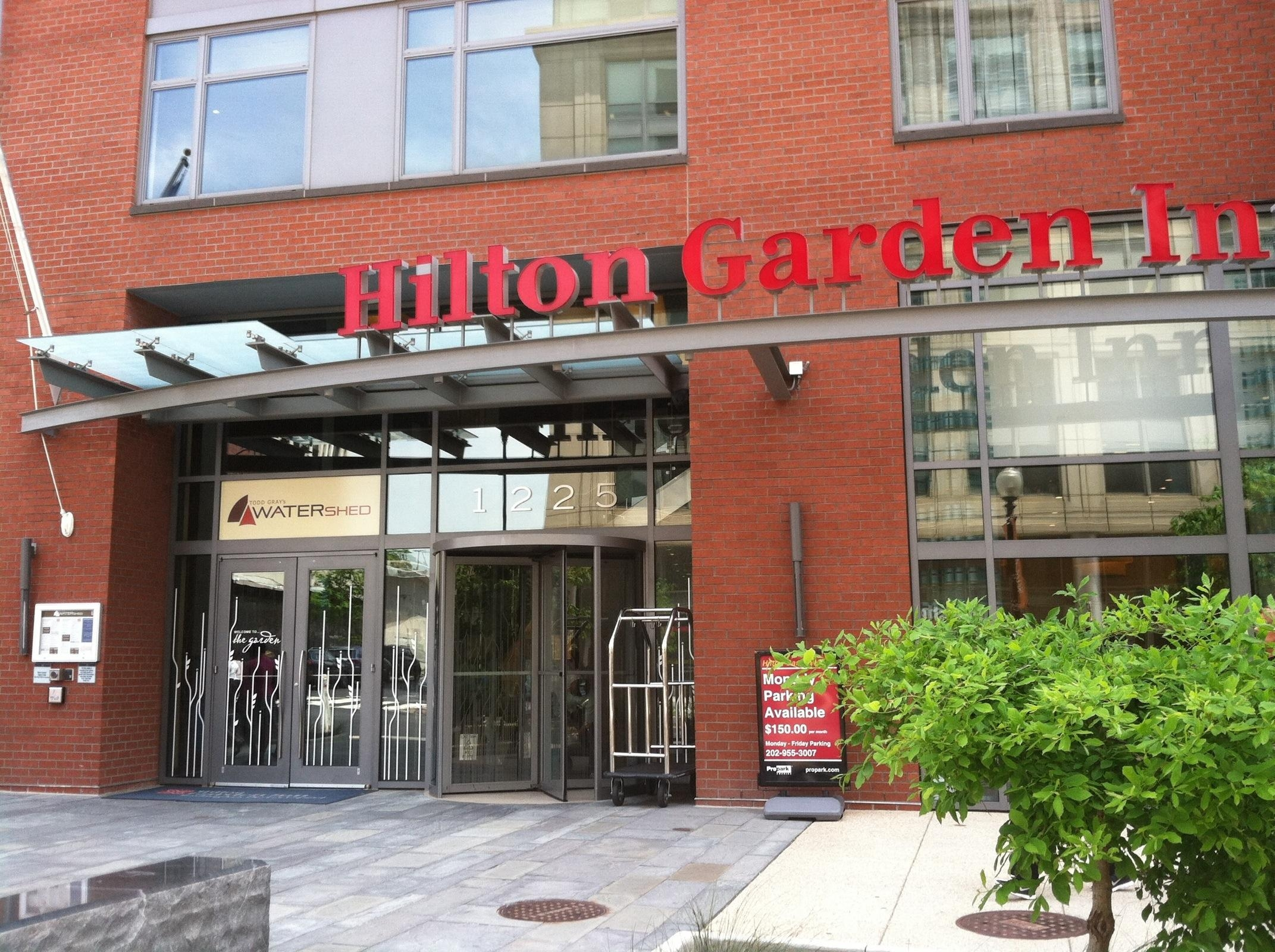 Hilton Garden Inn Parking In Washington Parkme