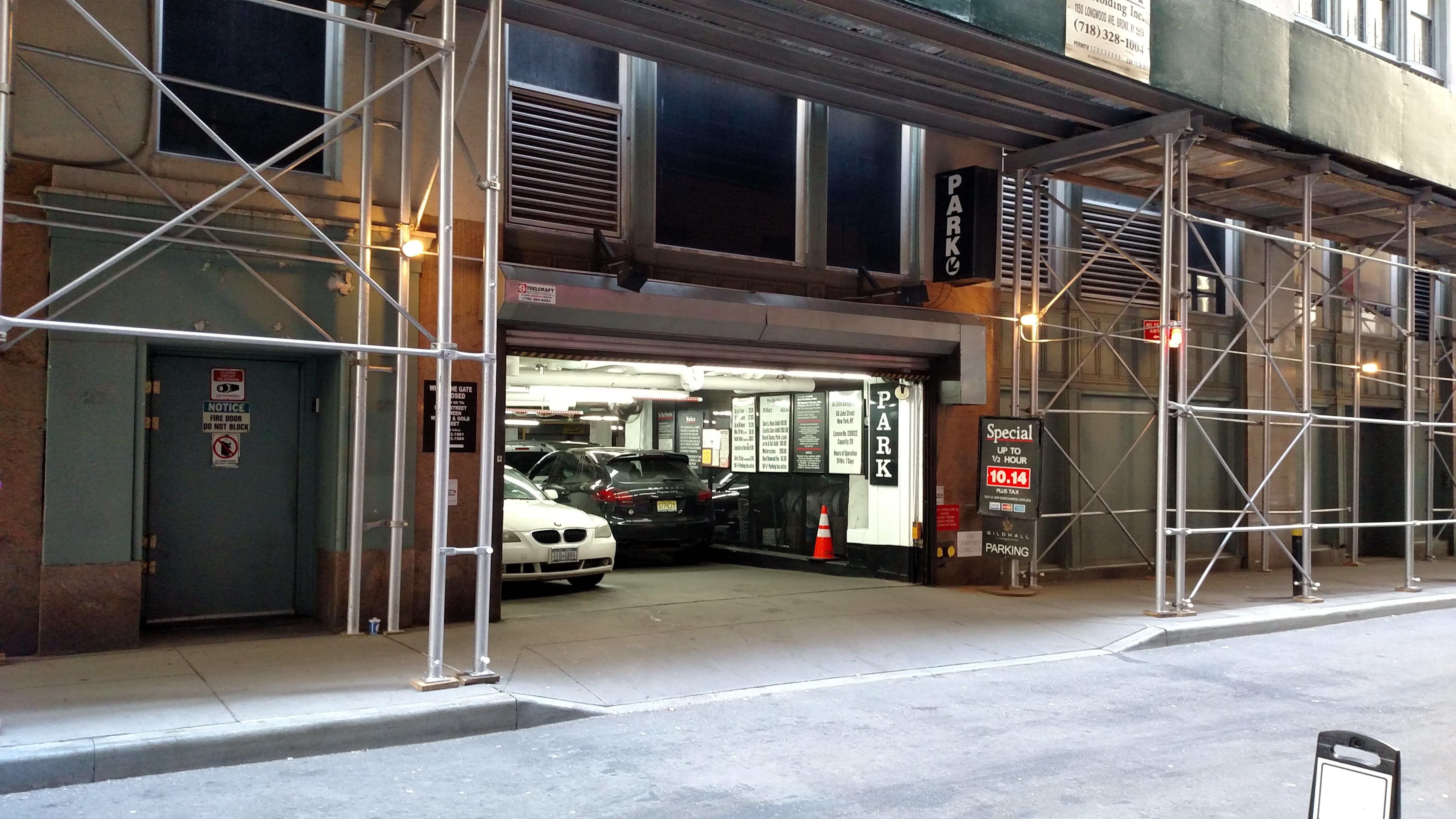 80 john st garage parking in new york parkme for New york city parking garage