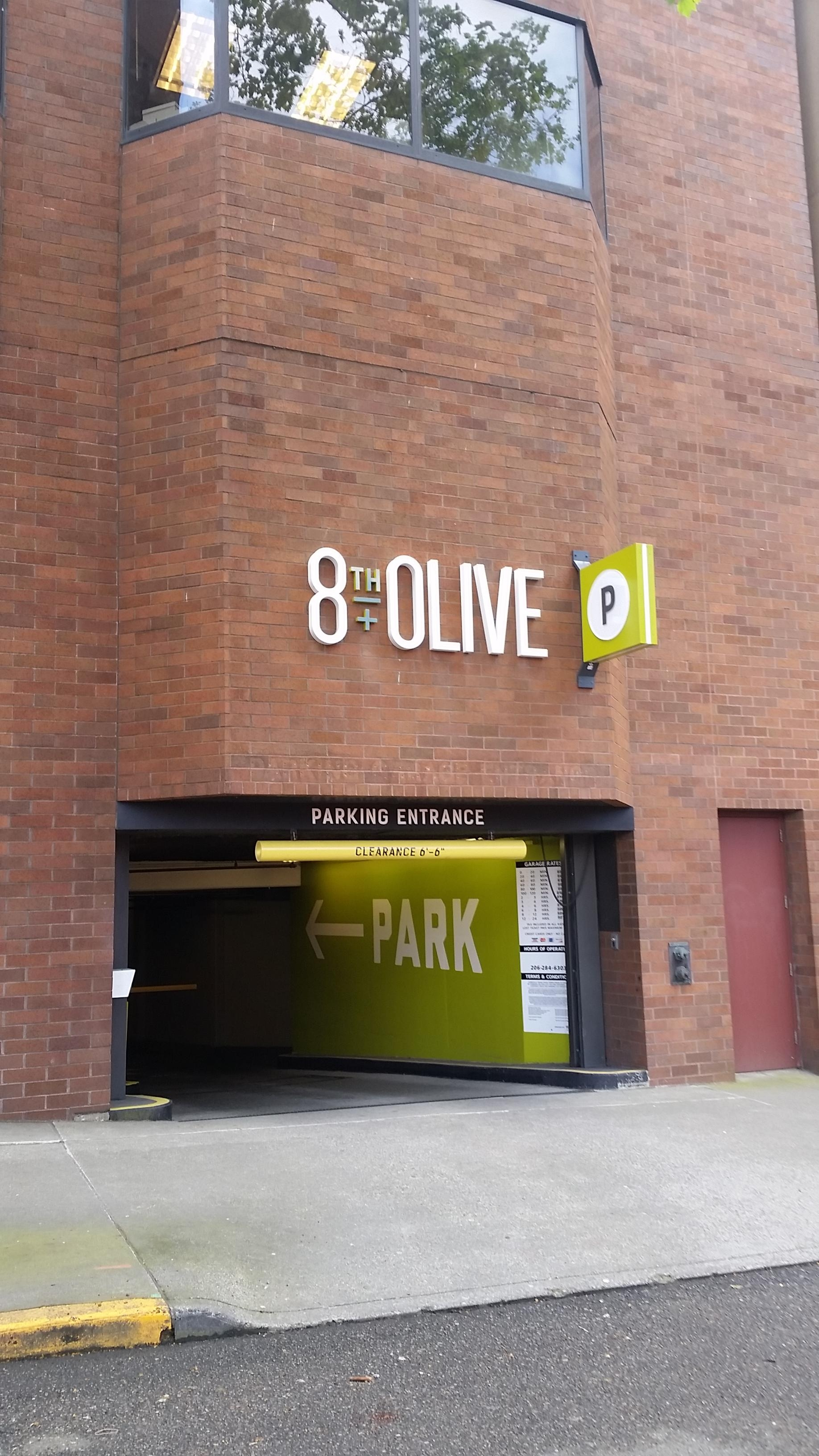 8th + Olive - Parking in Seattle | ParkMe