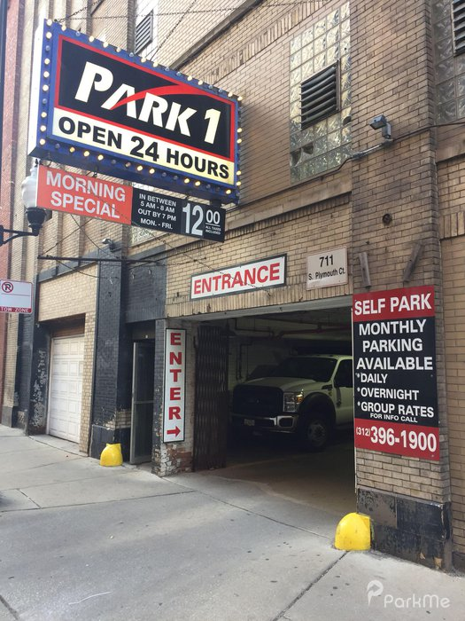 711 S Plymouth Ct Garage - Parking in Chicago | ParkMe