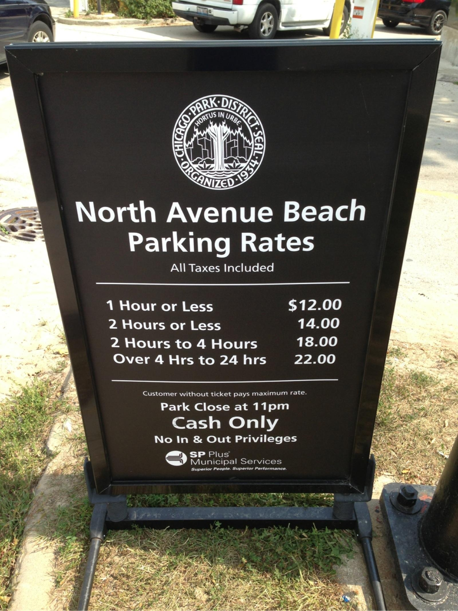 North Avenue Beach Parking Parking In Chicago ParkMe - Chicago map north avenue beach
