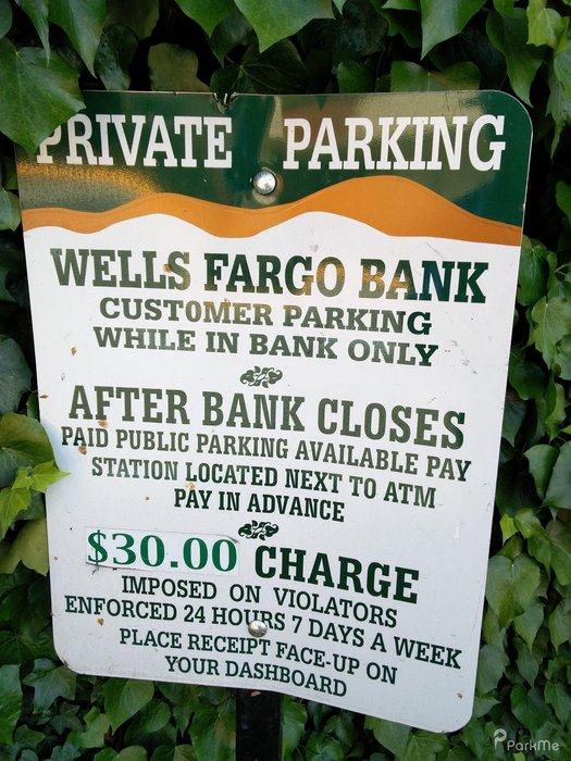 Wells Fargo Bank Lot - Parking in Walnut Creek | ParkMe