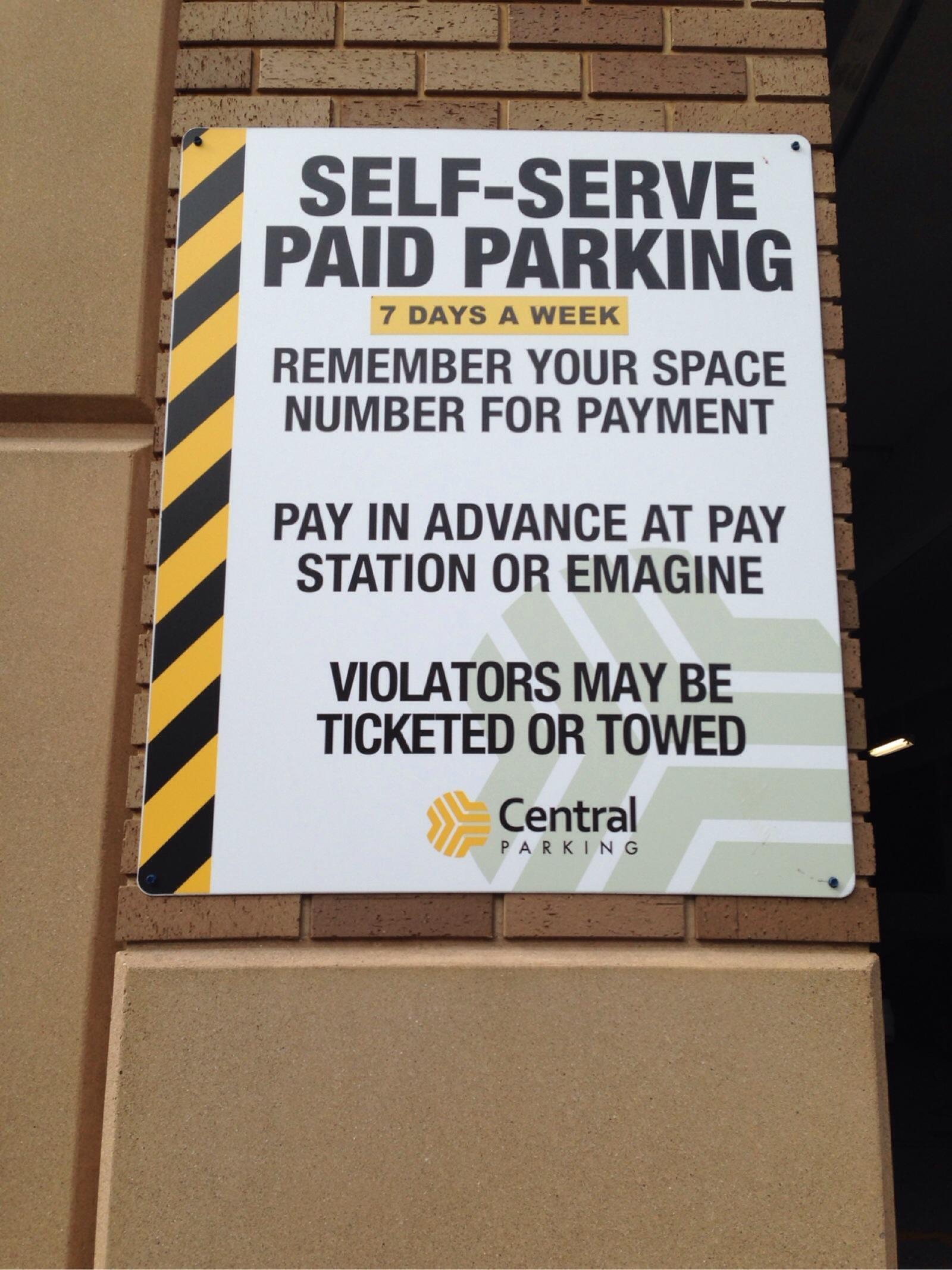 Main North Garage - Parking in Royal Oak | ParkMe