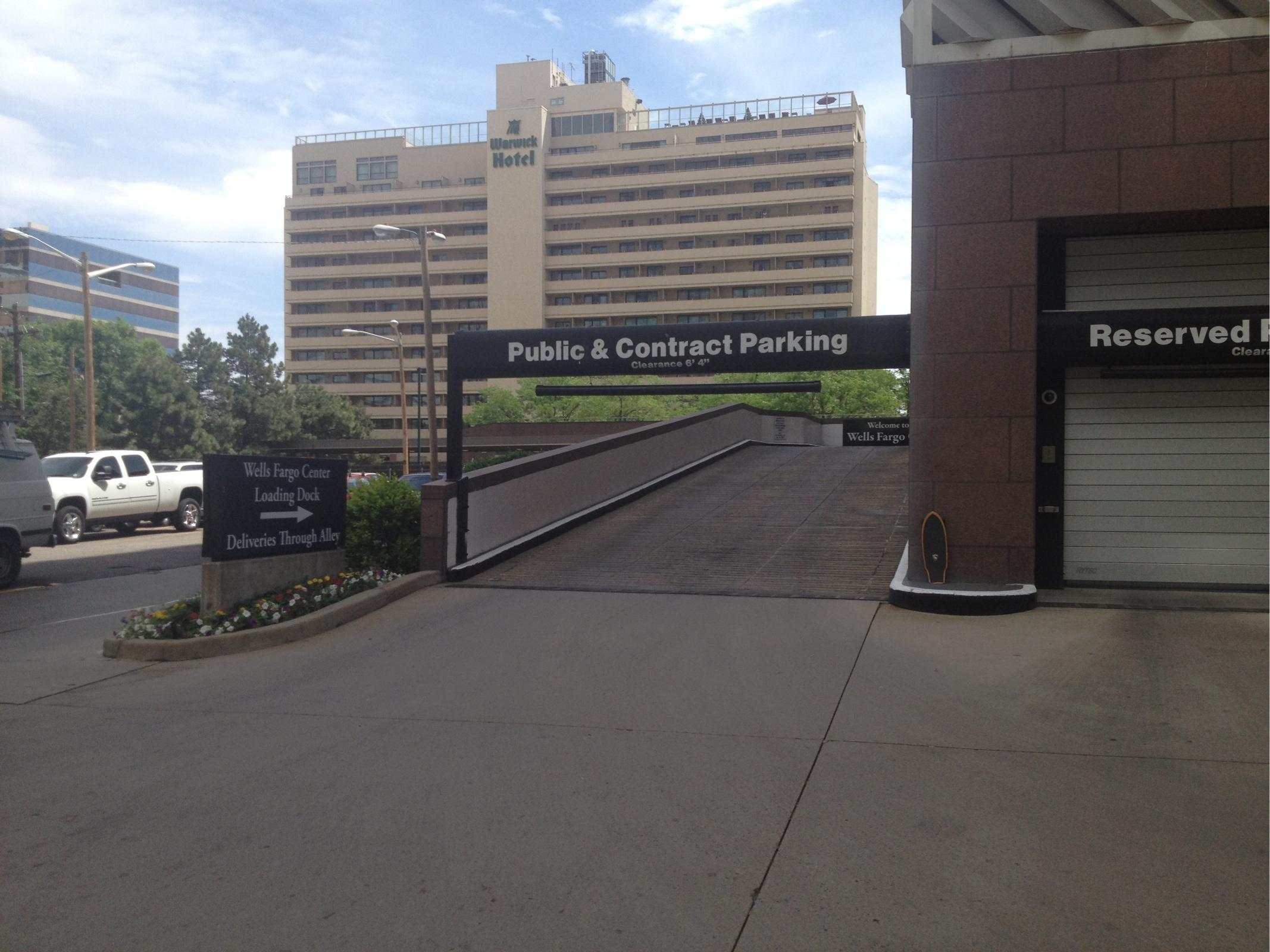 Wells Fargo Center - Parking in Denver   ParkMe