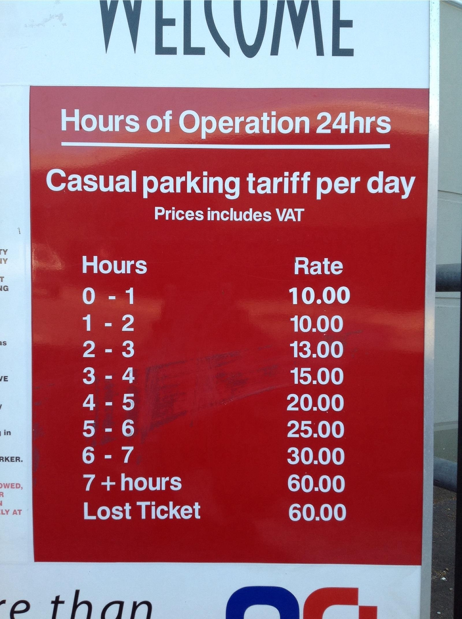 R60 Cavendish Square Parking in Cape
