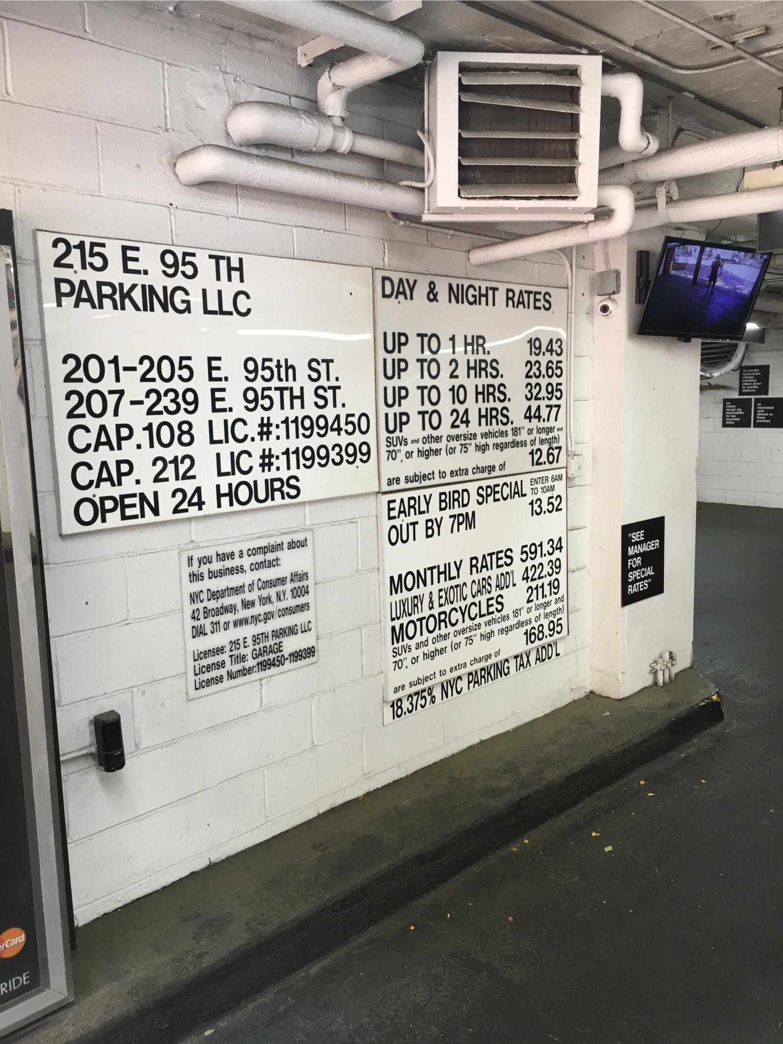 lic 215 215 E 95th St Garage - Parking in New York | ParkMe