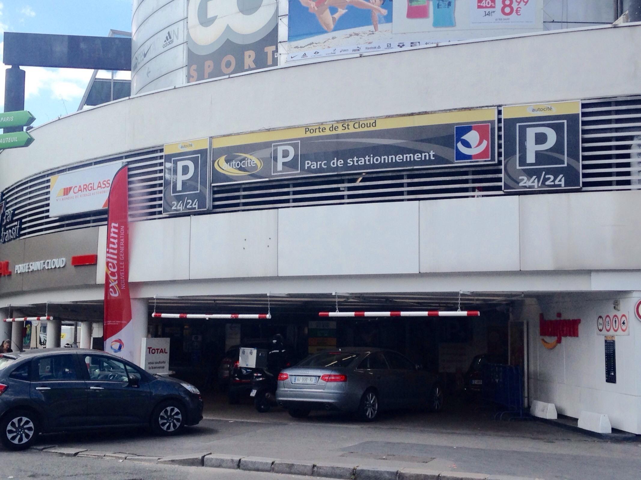 Porte de st cloud parking in paris parkme - 2 avenue de la porte molitor 75016 paris ...