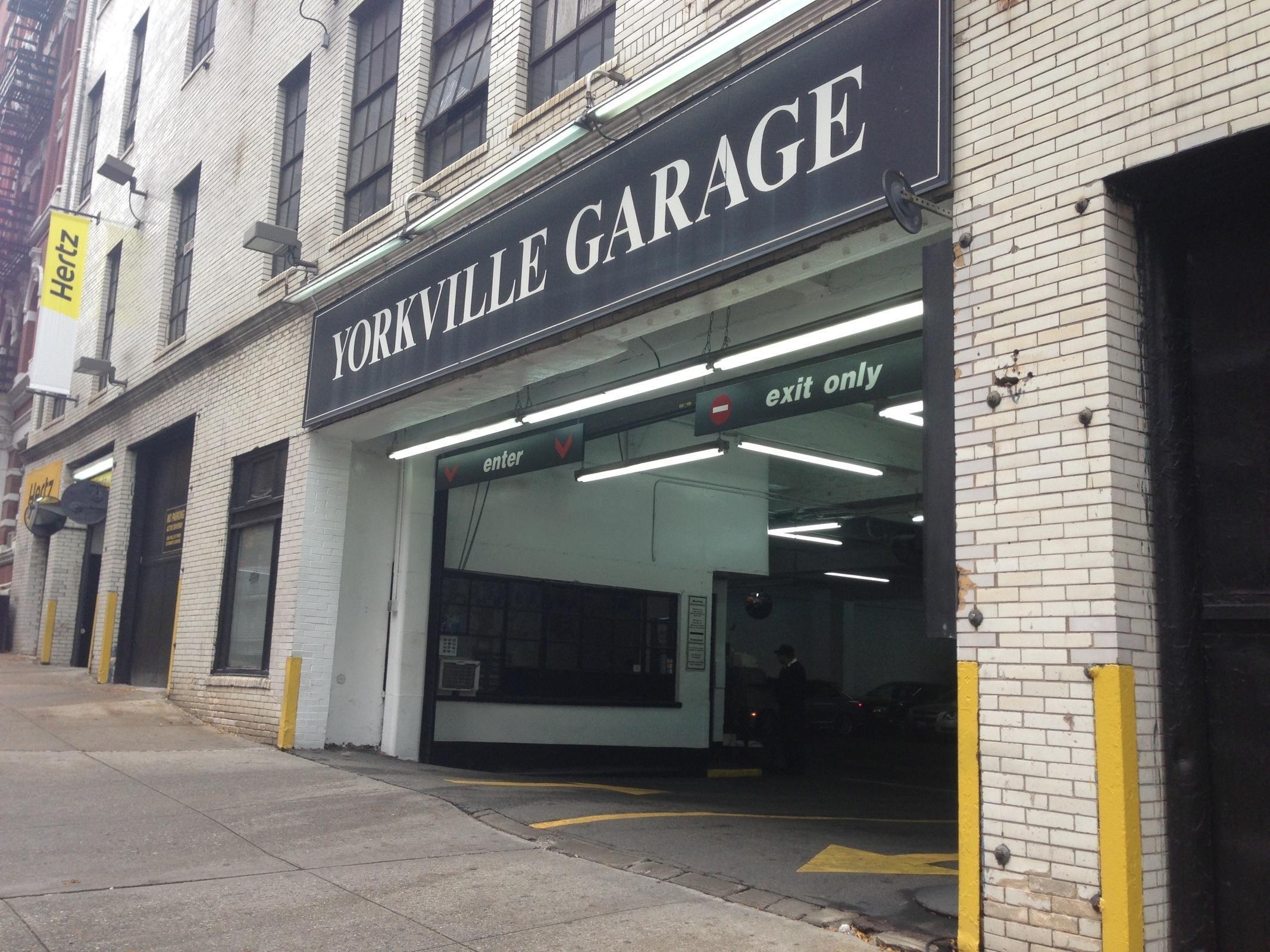 Yorkville garage parking in new york parkme for New york parking garage