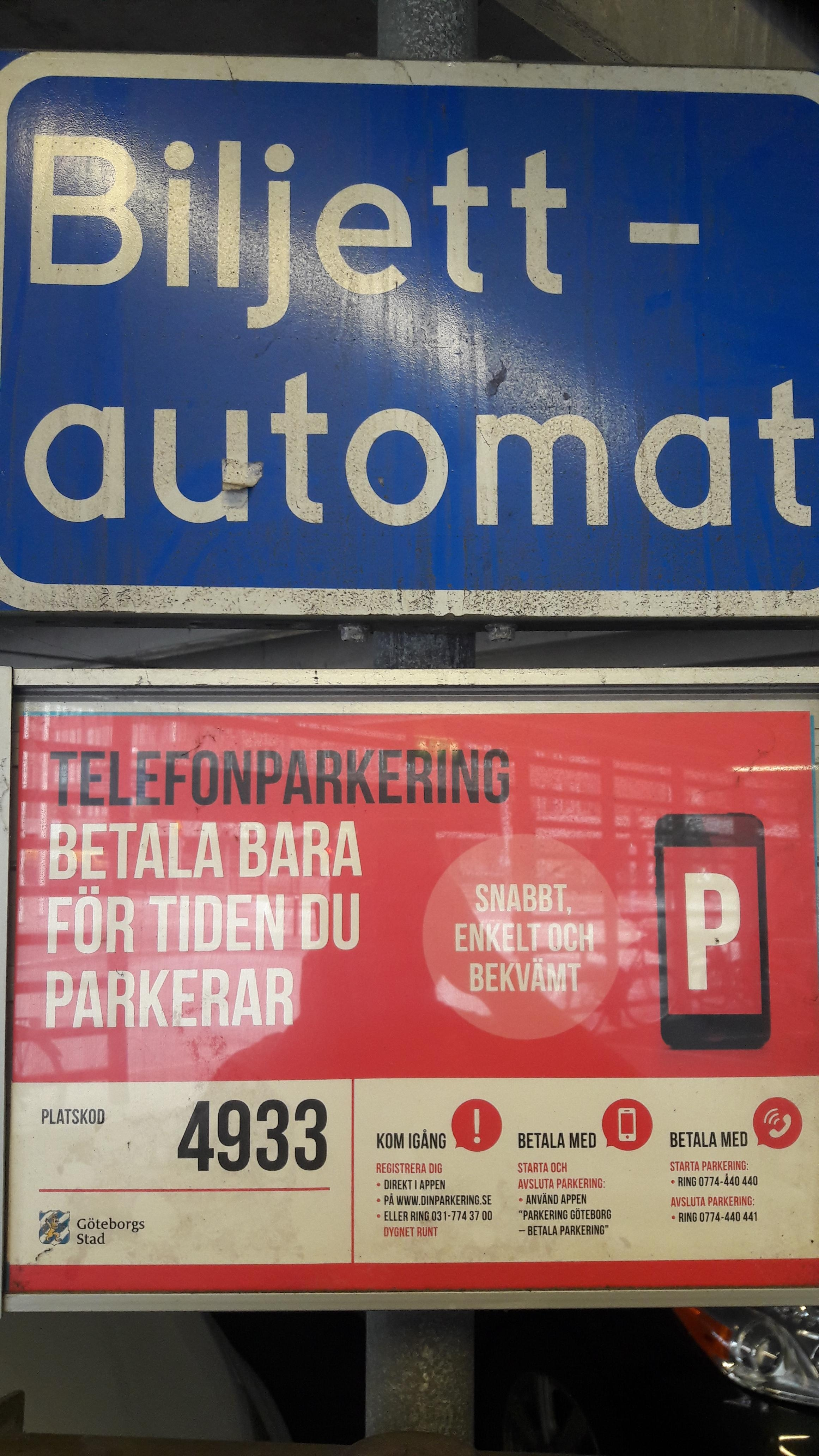 gratis mc parkering göteborg