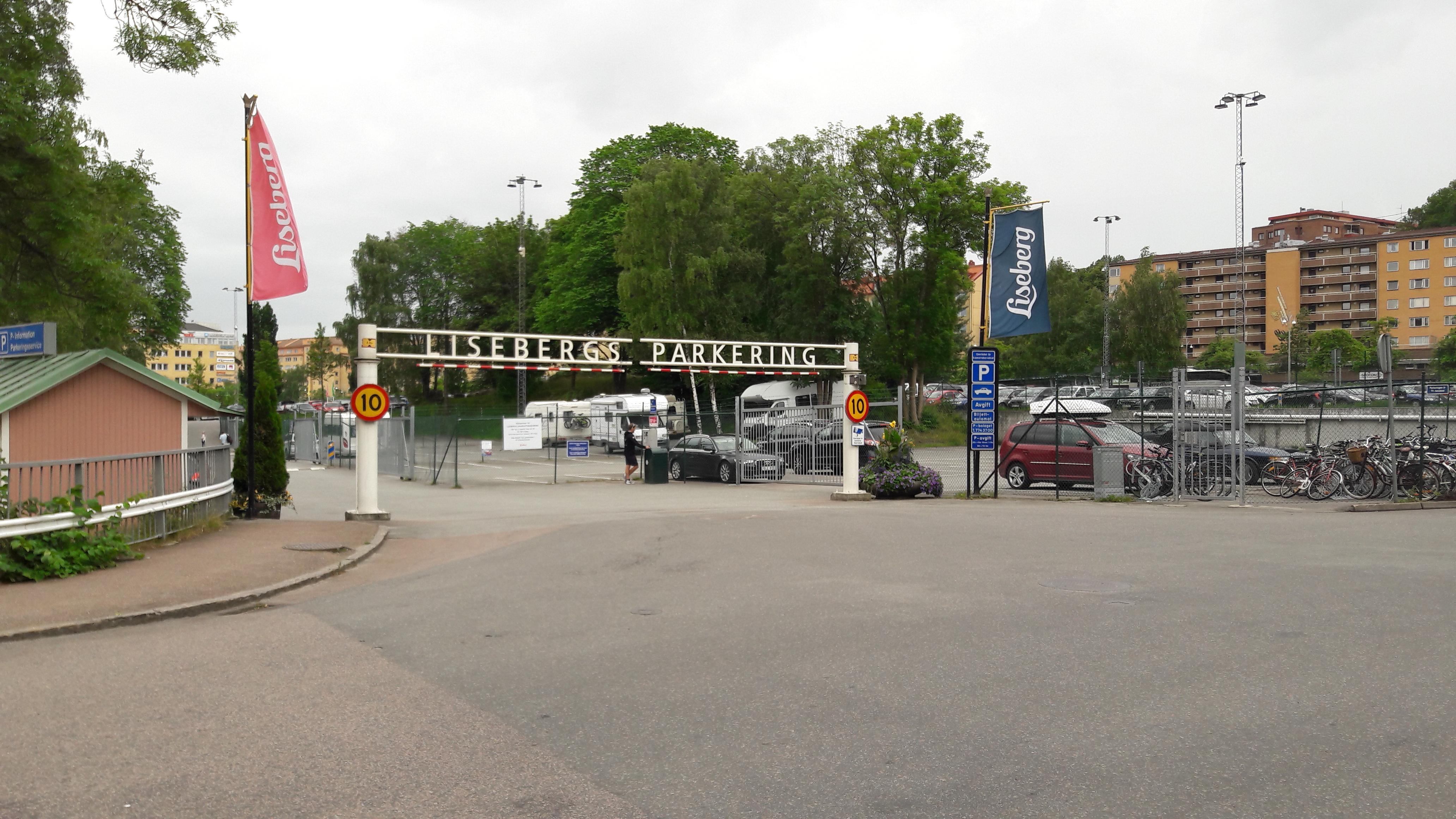 parkering liseberg karta Liseberg Södra   Parkerar i Gothenburg | ParkMe parkering liseberg karta