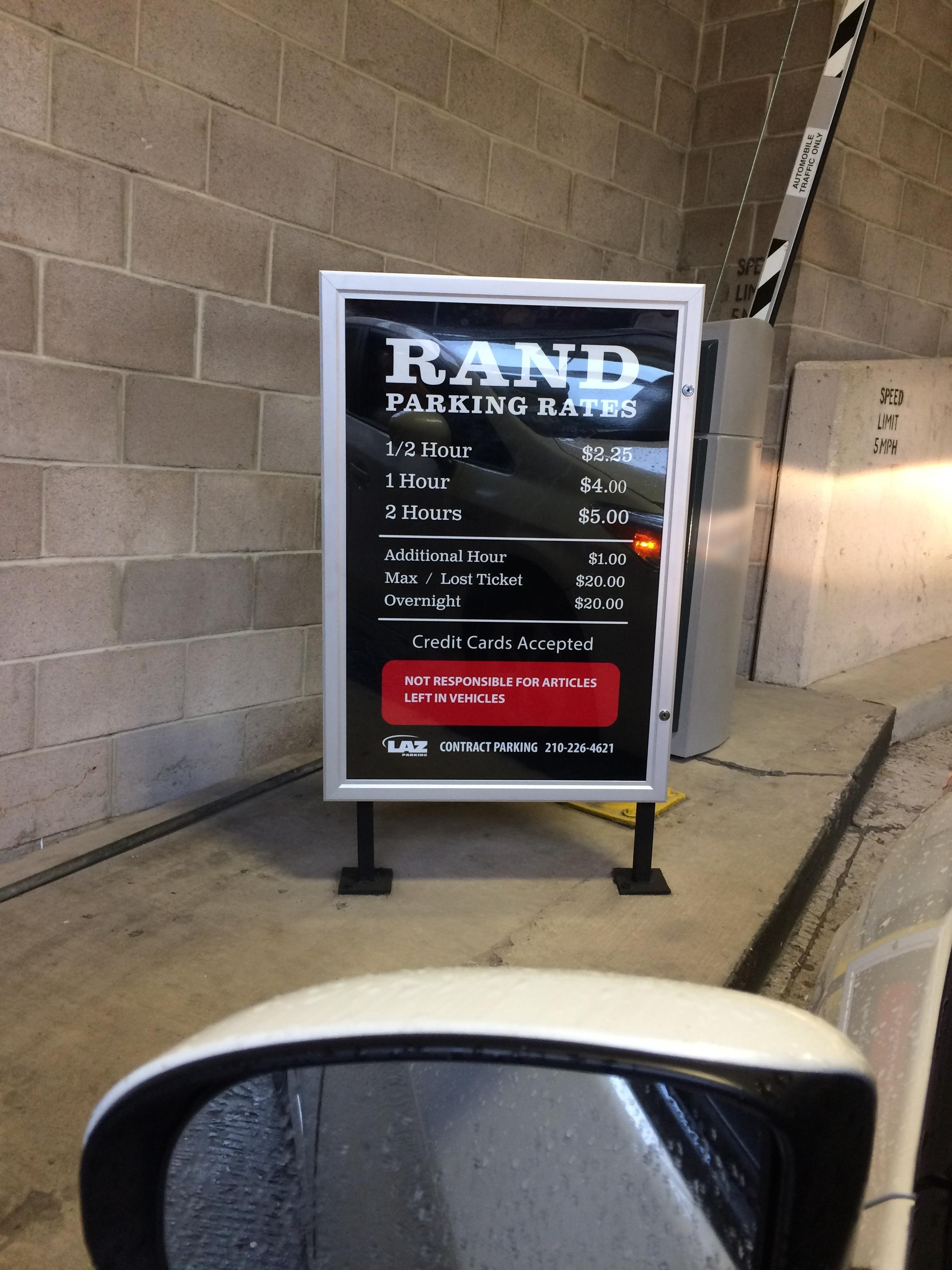 Rand Garage Parking In San Antonio Parkme