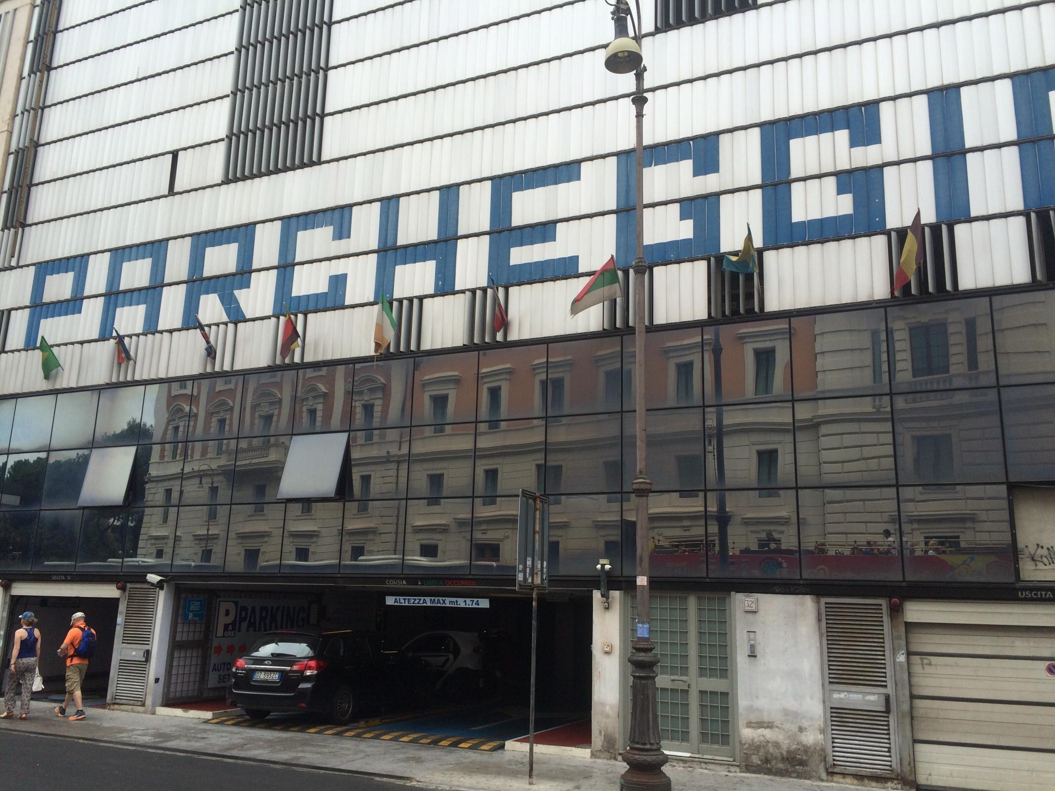 Via Marsala 30 32 Garage Parking In Roma Parkme