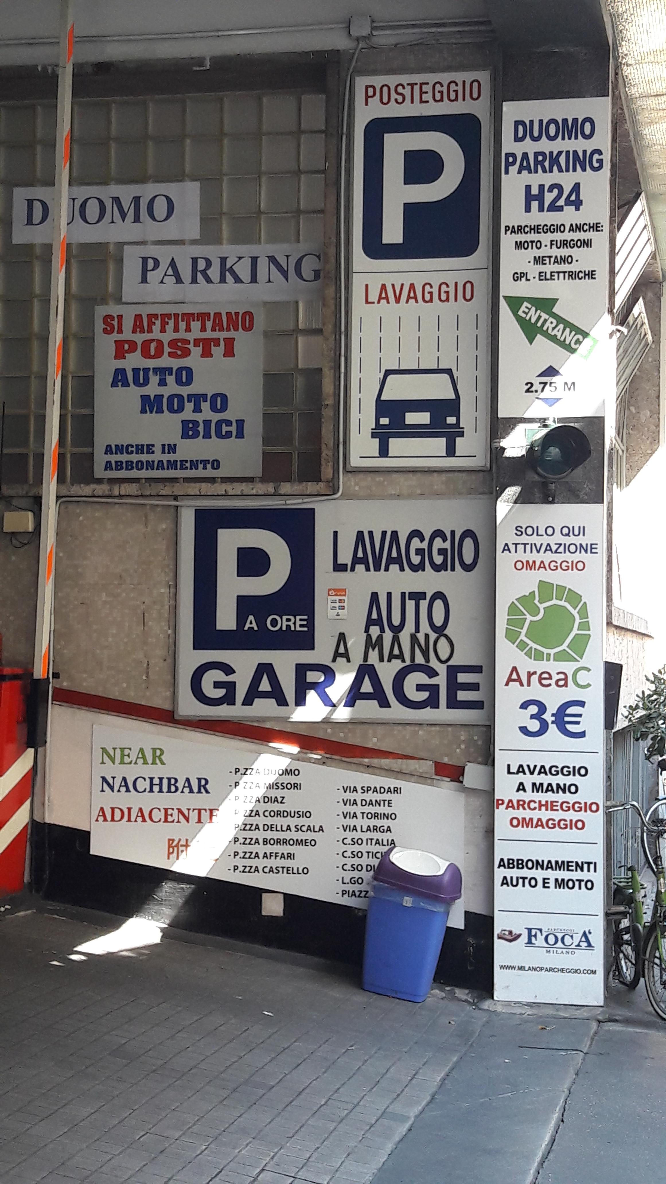 Garage Olmetto Parking In Milano Parkme