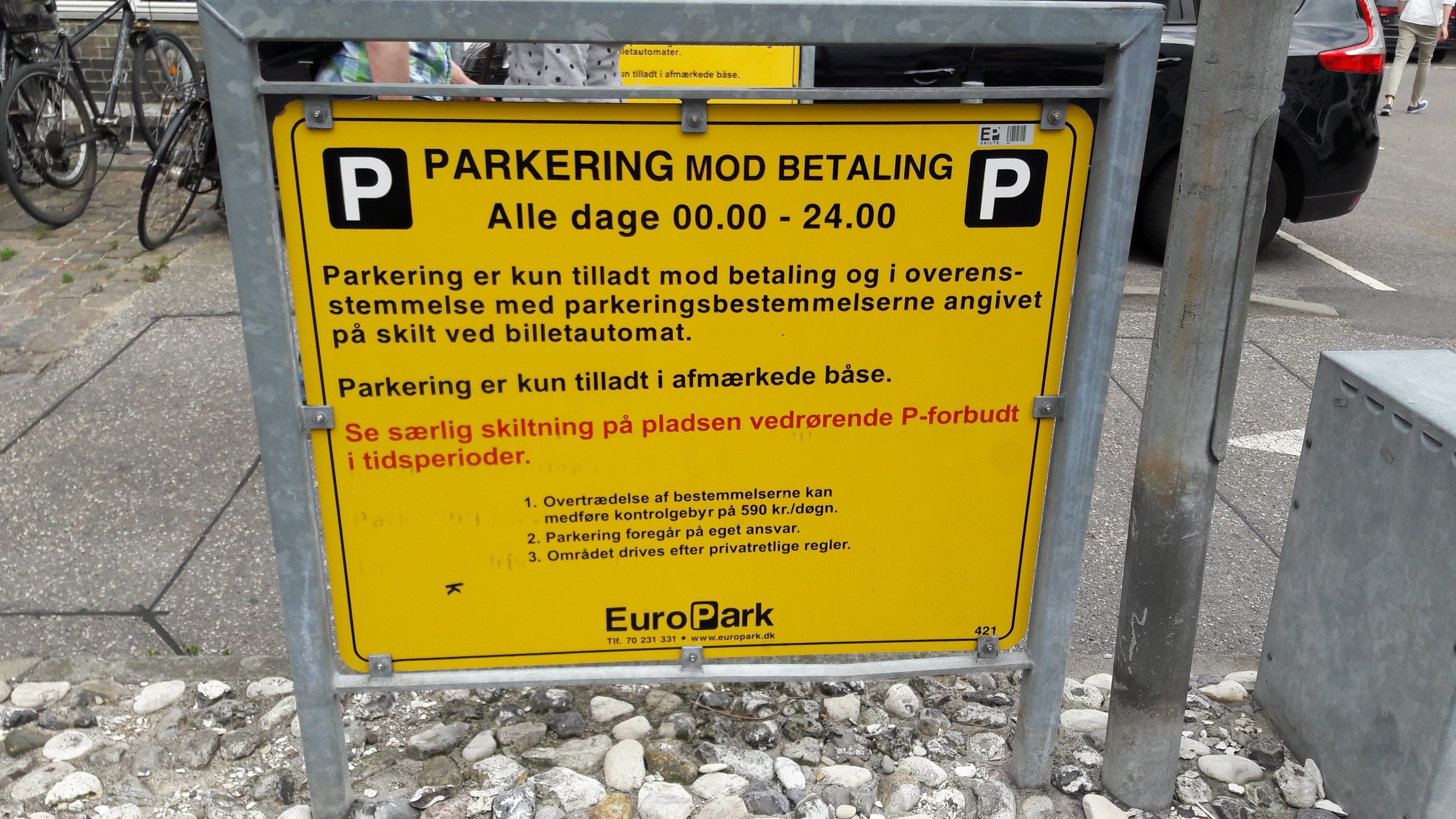 parkering betaling
