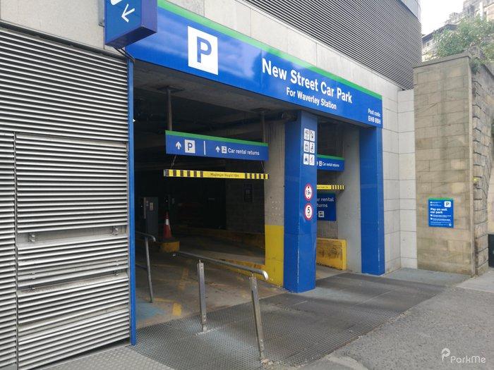 New Street Car Park Parking In Edinburgh Parkme