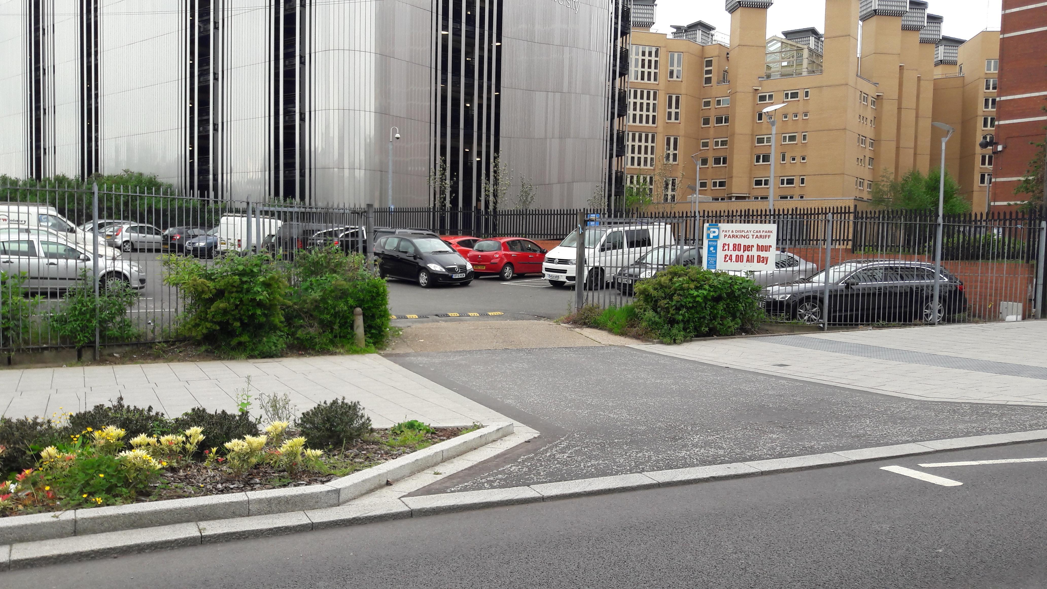 Far Gosford Street Surface Car Park  Coventry