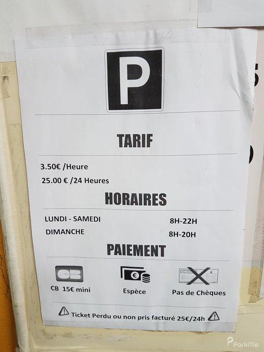 Garage Poniatowski Parking In Charenton Le Pont Parkme