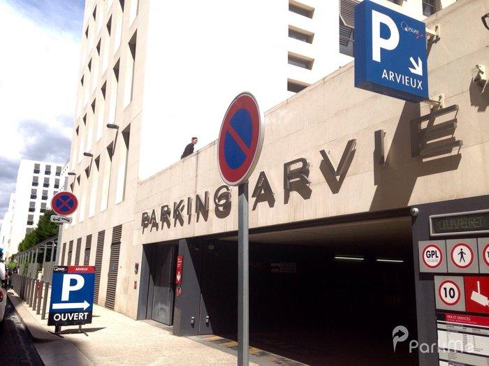 Parking arvieux parking in marseille parkme for E parking marseille