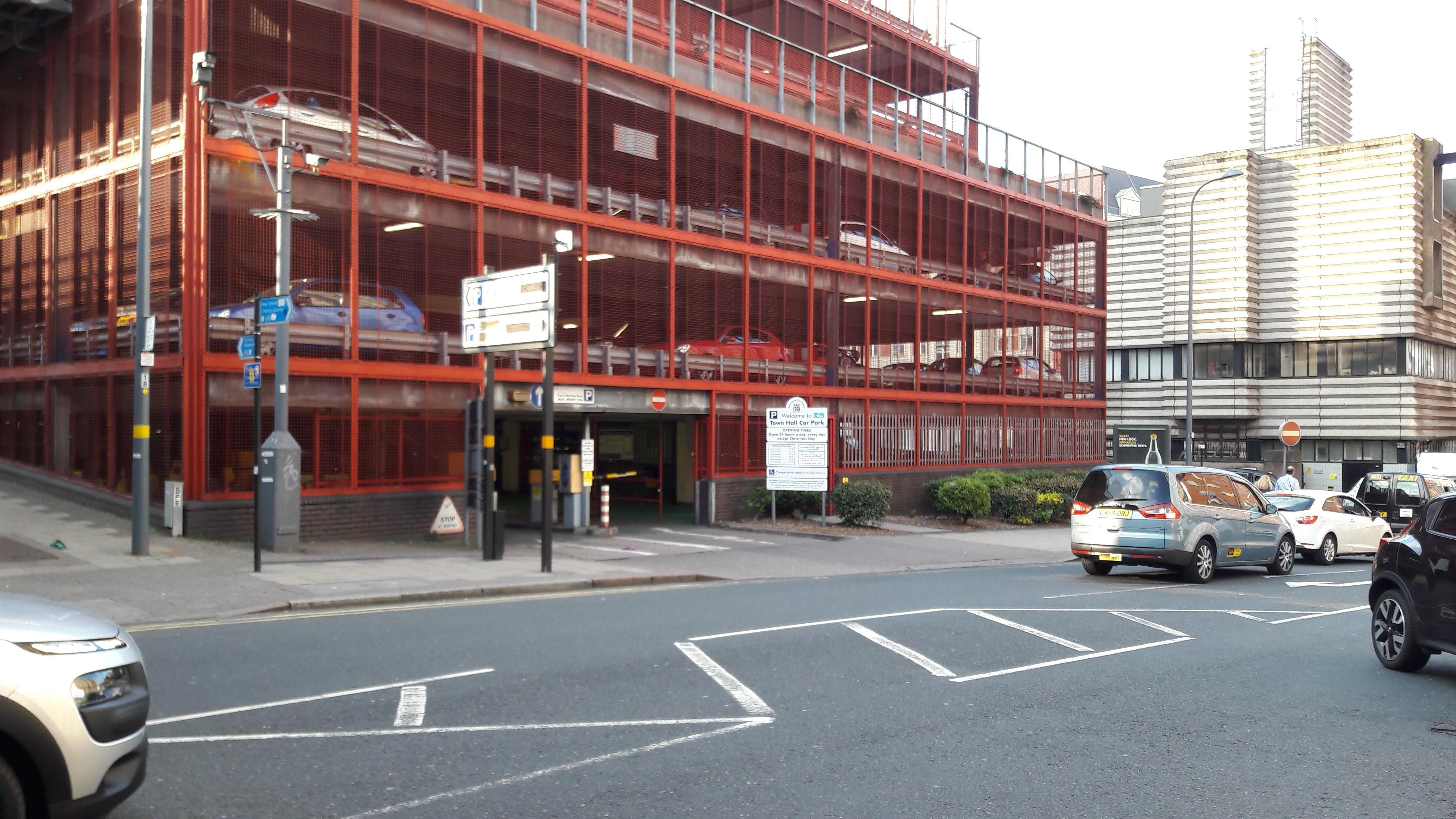 Town Hall Car Park - Parking in Birmingham | ParkMe