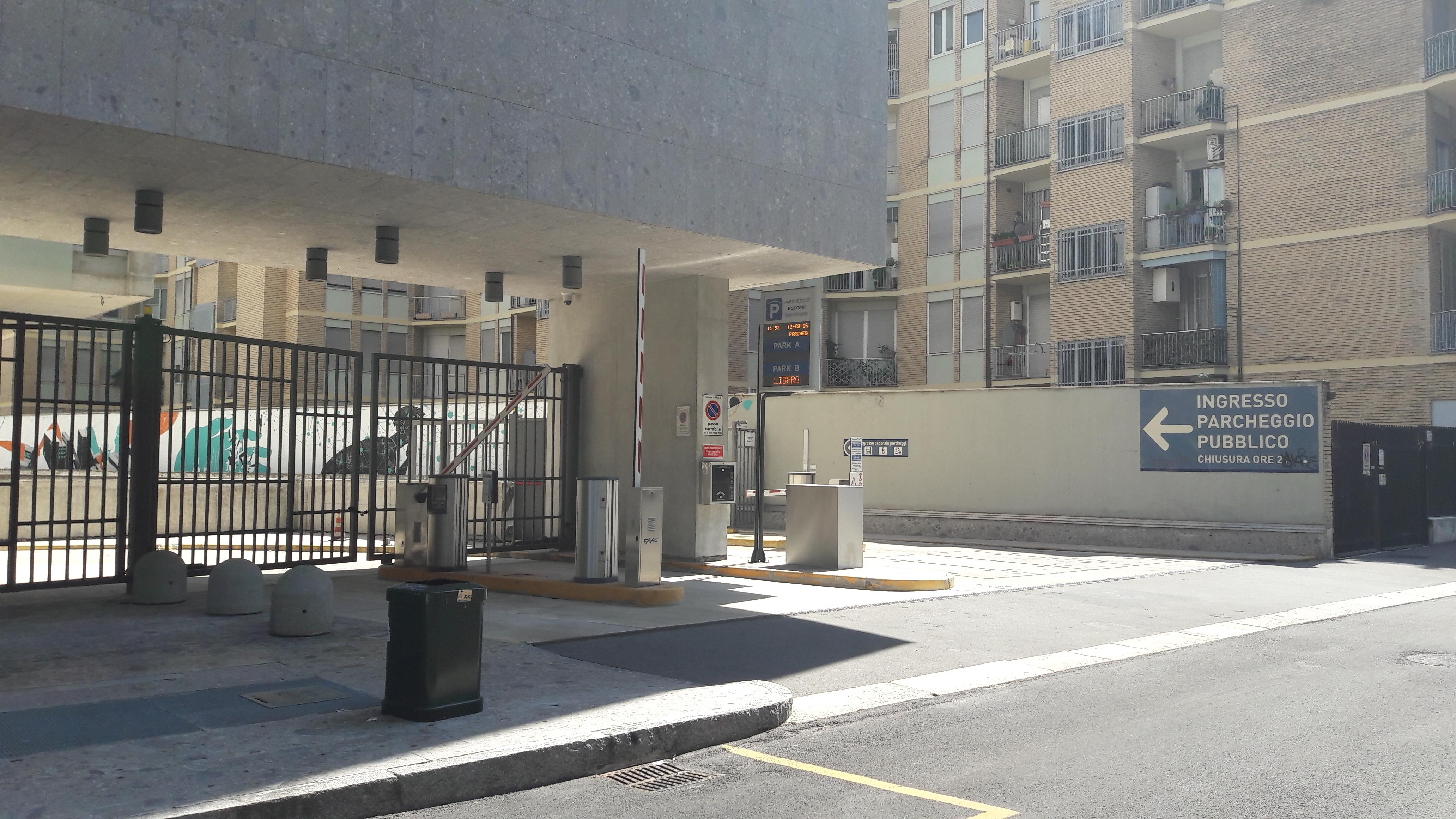 Parcheggio Universita Bocconi B Parking In Milano Parkme