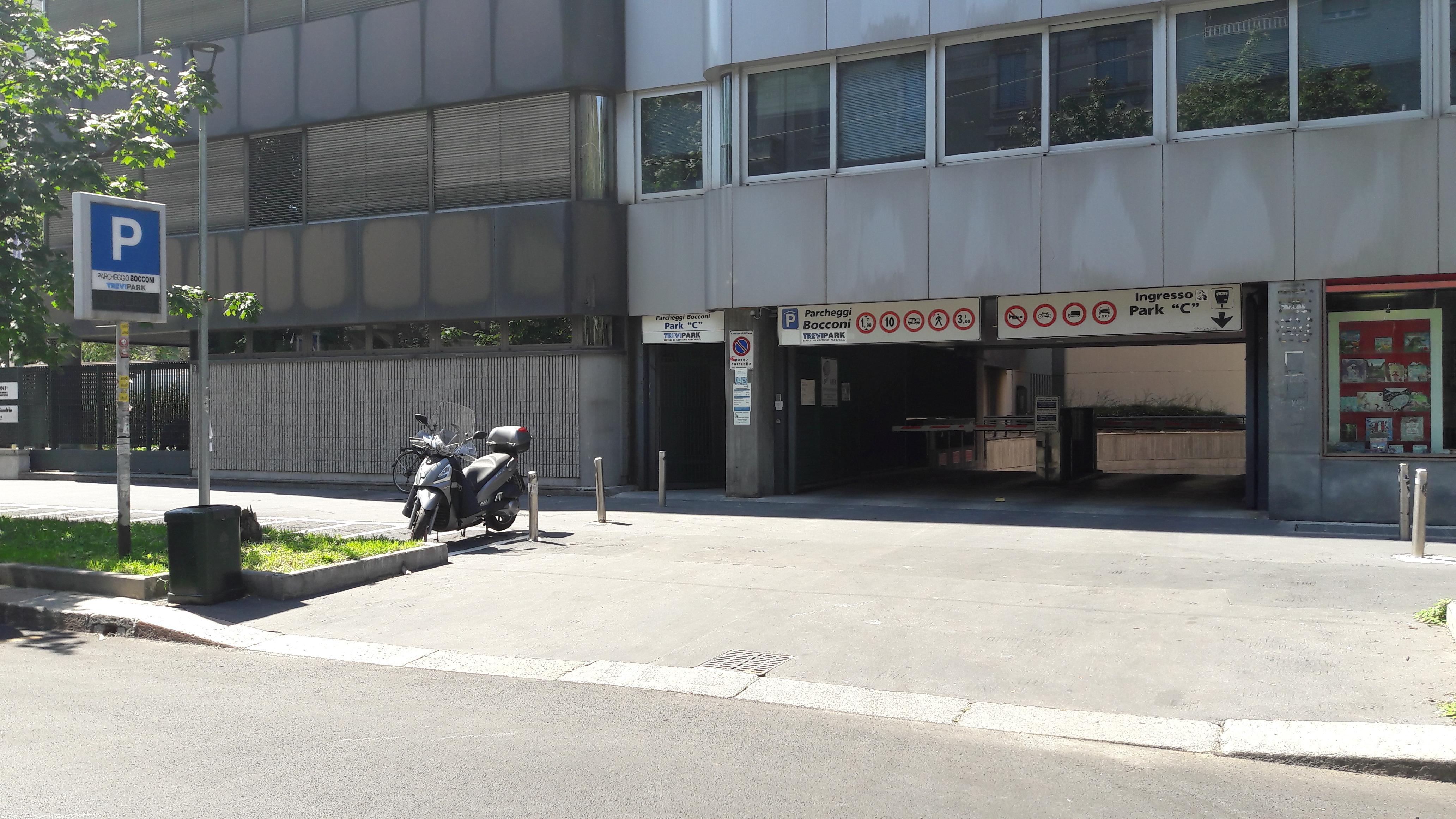 Parcheggi Bocconi C Parking In Milano Parkme
